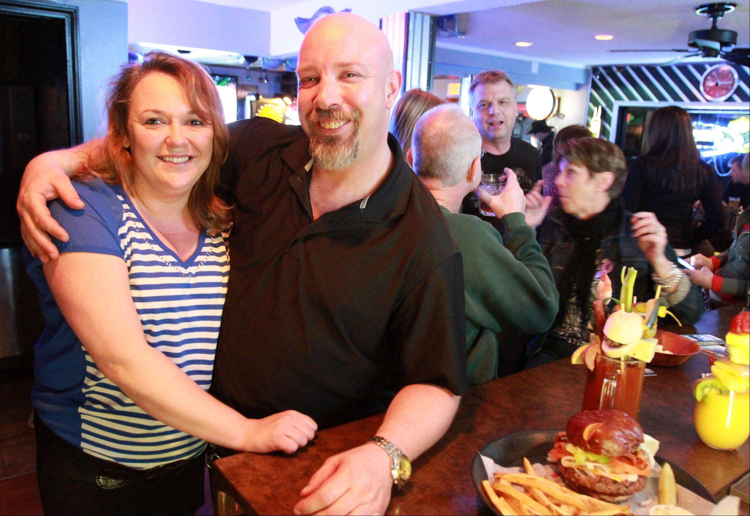 Owners Shawn and Virginia Alverson gutted Route 12 Bar & Grill in Fox Lake and reopened it as a neighborhood spot two years ago.