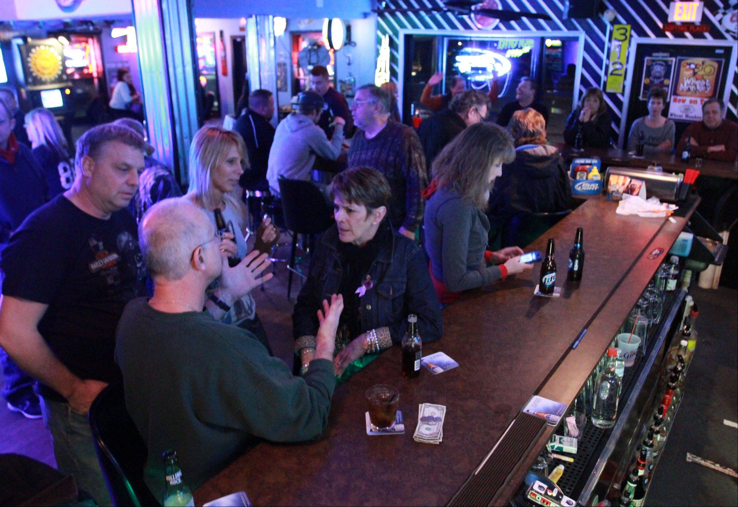 Route 12 Bar & Grill in Fox Lake draws a mix of ages.