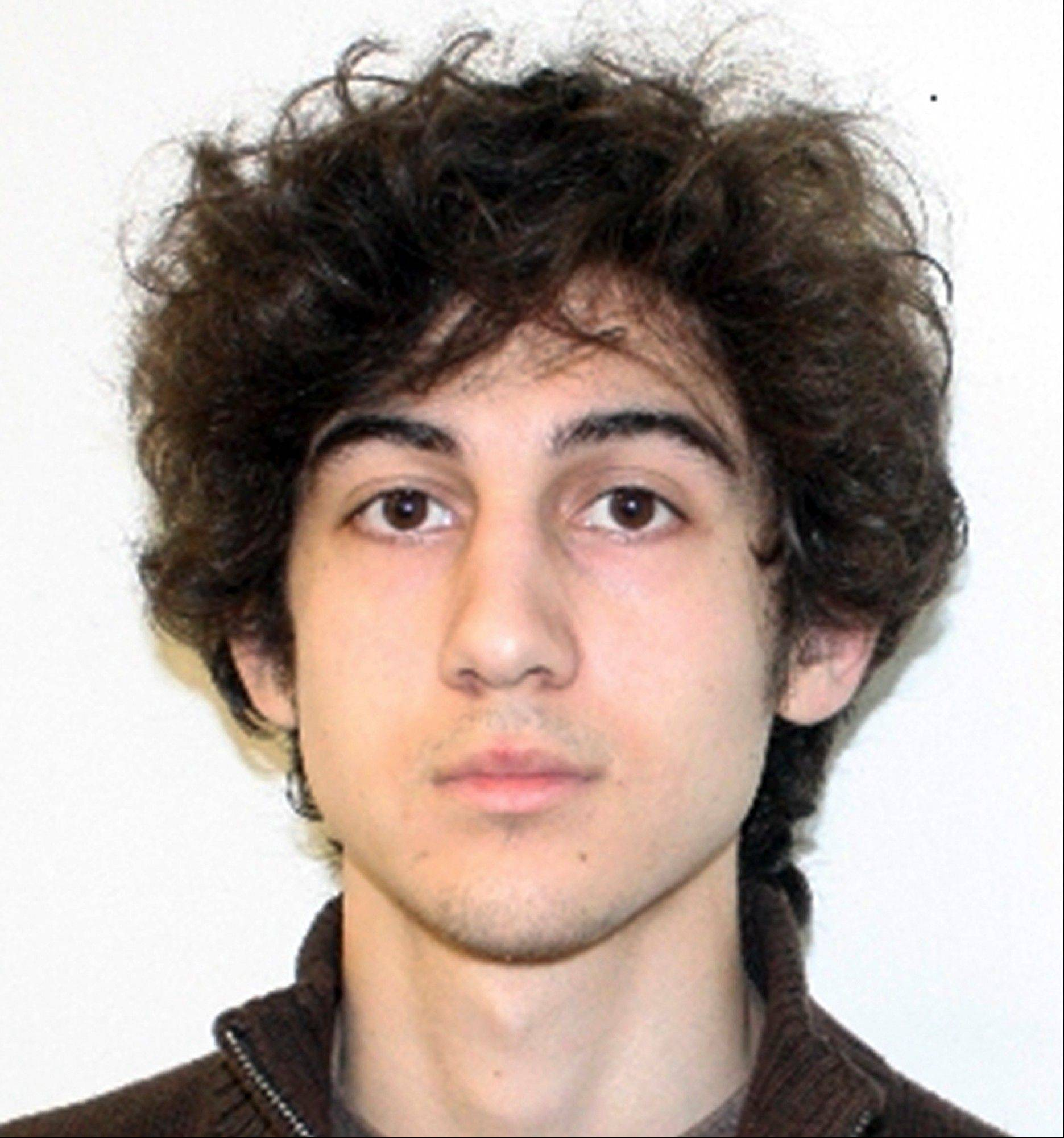 This photo released Friday, April 19, 2013 by the Federal Bureau of Investigation shows a suspect that officials identified as Dzhokhar Tsarnaev, being sought by police in the Boston Marathon bombings Monday.
