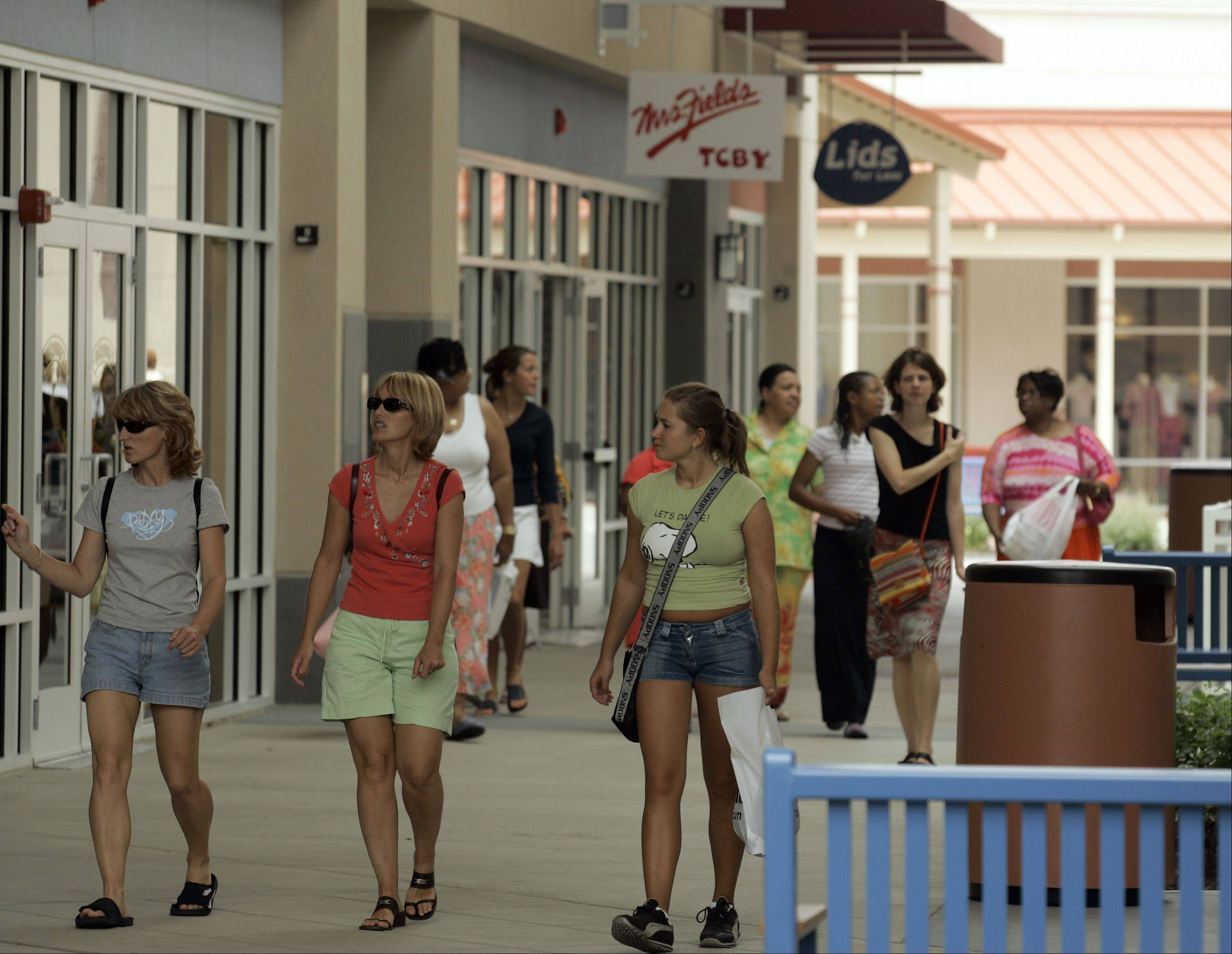 The Chicago Premium Outlet Mall in Aurora was Kane County's No. 1 taxpayer in 2013.
