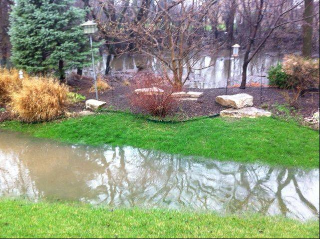 Flooding in Des Plaines.