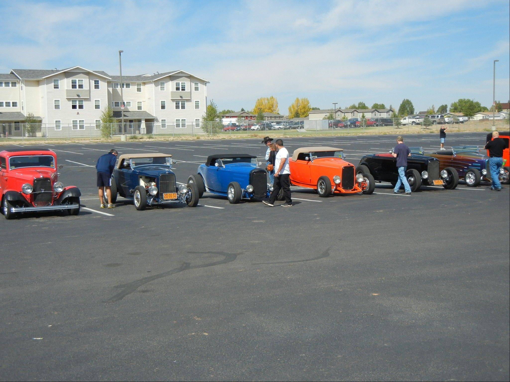 Heidt participated in a caravan of drivers who celebrated the 80th anniversary of the 1932 Ford by driving from San Francisco to Indianapolis.
