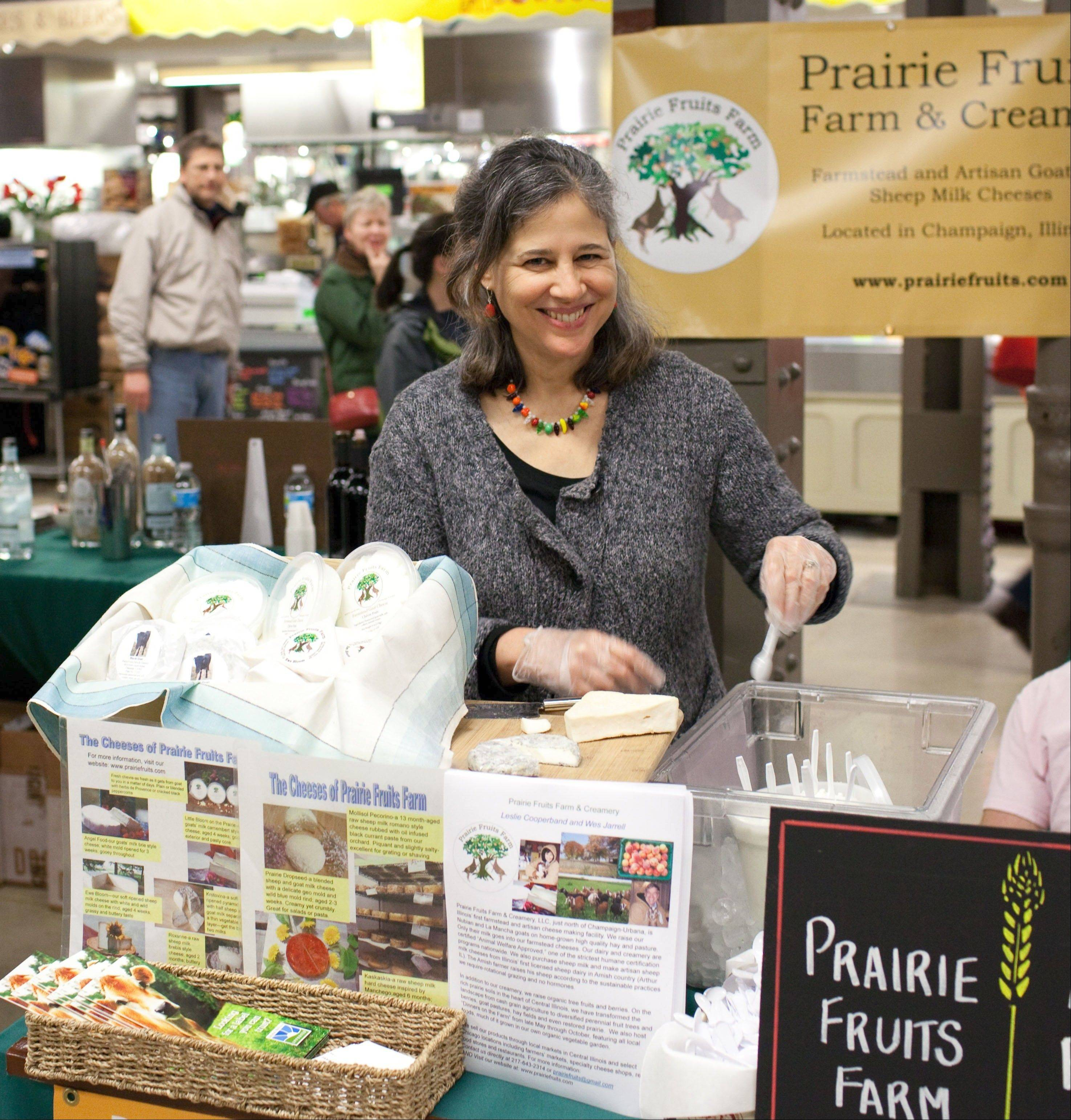 Cheesemaker Leslie Cooperband of Prairie Fruits Farm will be part of the Pastoral's Artisan Producer Festival Saturday, April 27.