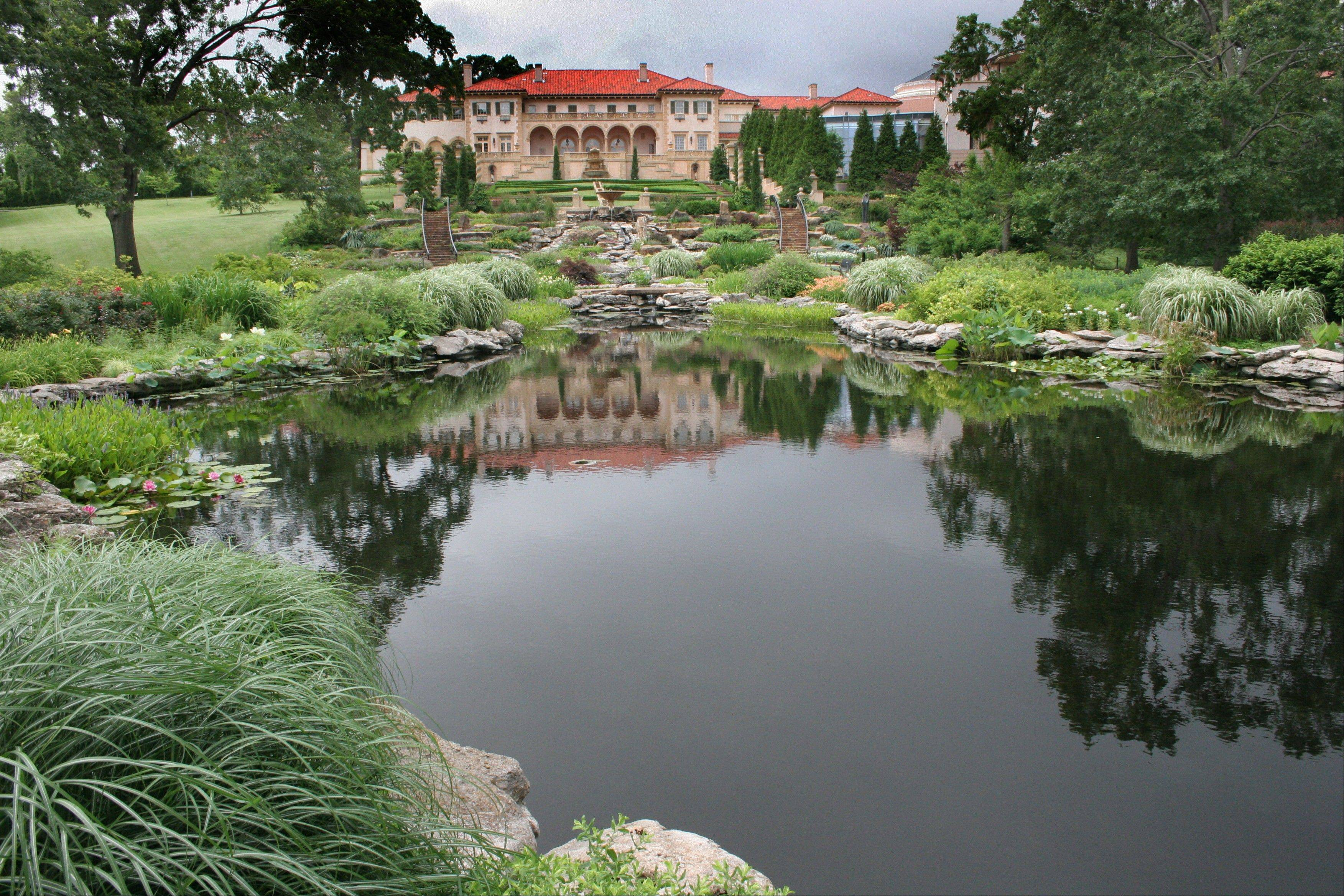 The Philbrook Museum of Art's collection of fine art is housed in what was once the 72-room private villa of oilman Waite Phillips' family. The grounds include a magnificent 23-acre garden.