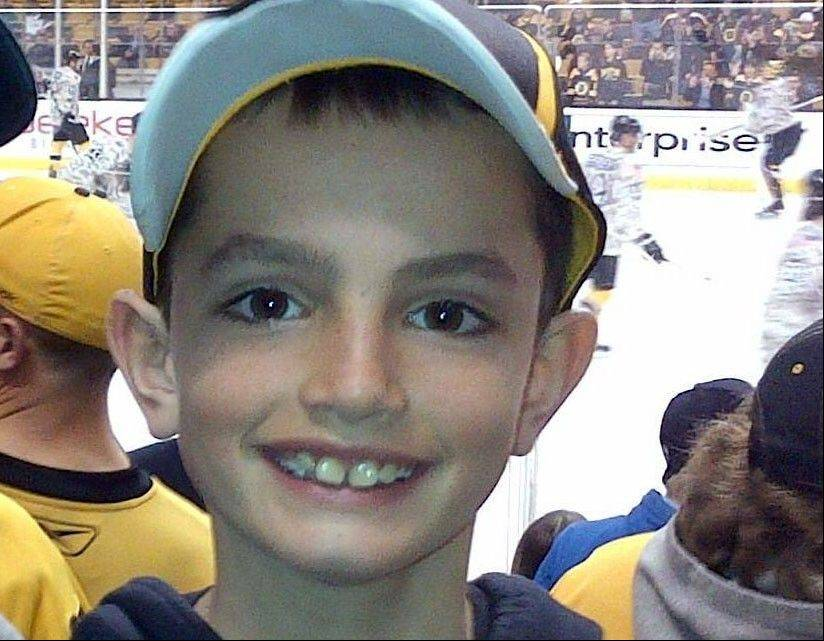 Martin Richard, 8, the youngest marathon bombing victim, was a big fan of the Boston Bruins hockey team.