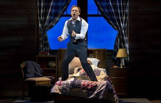 "Norbert Leo Butz stars as Edward Bloom, a traveling salesman with a penchant for tall tales, in the pre-Broadway world premiere of the musical ""Big Fish."""