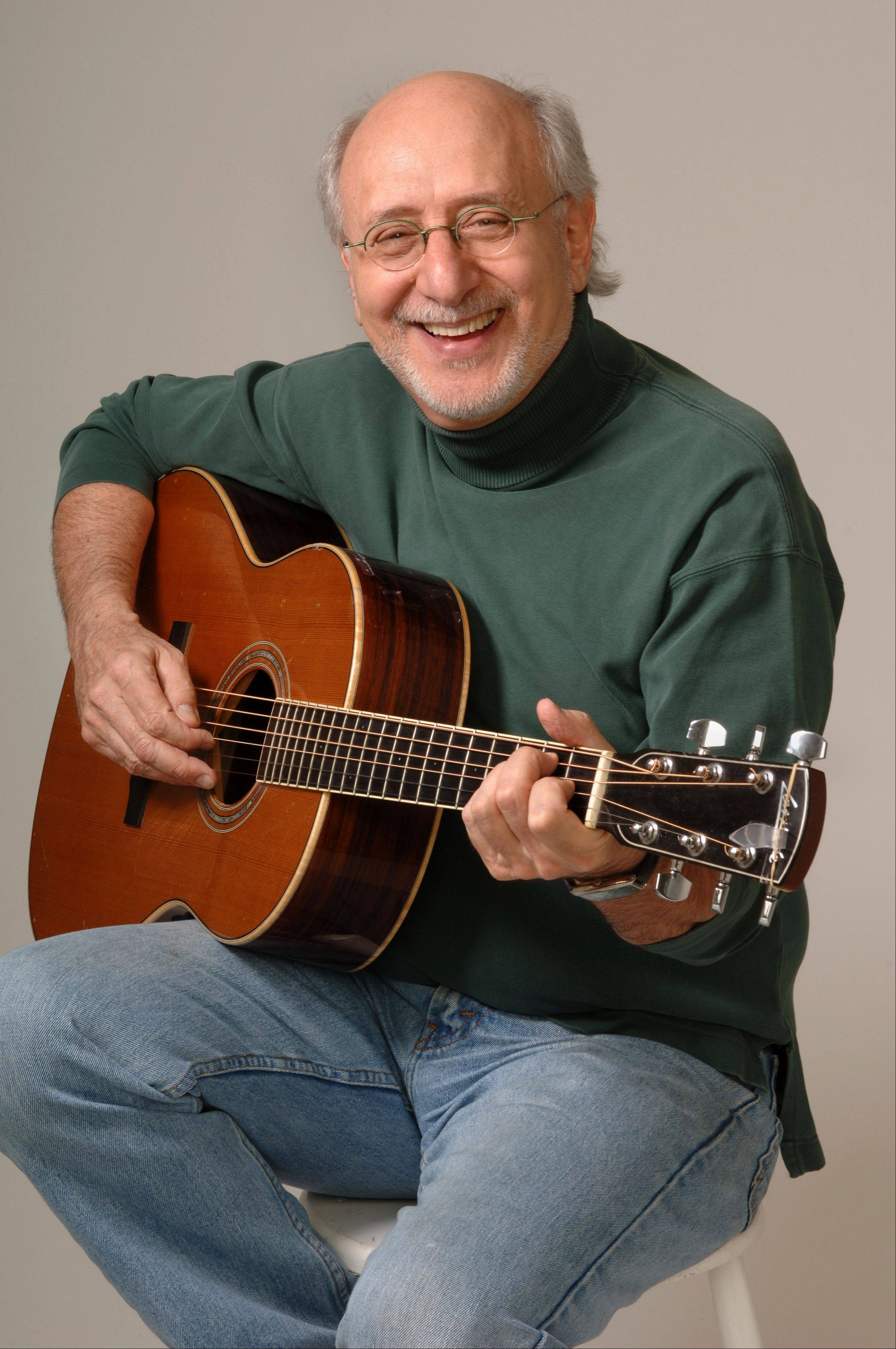 Peter Yarrow's concert at the Raue Center for the Arts in Crystal Lake has been rescheduled to 8 p.m. Saturday, July 27.