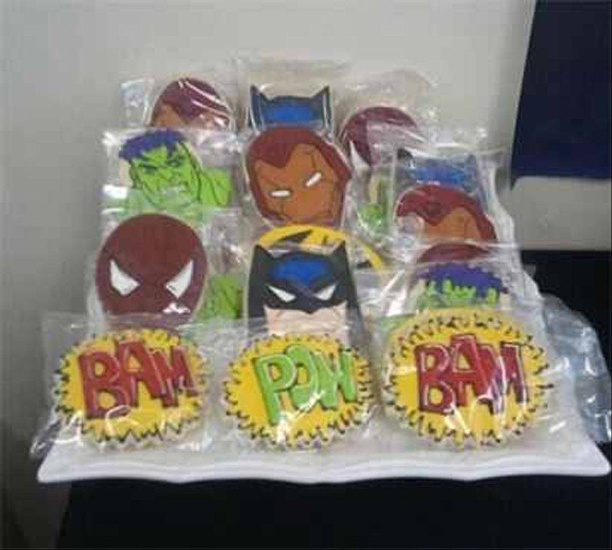 Include favors that fit the theme of your party.