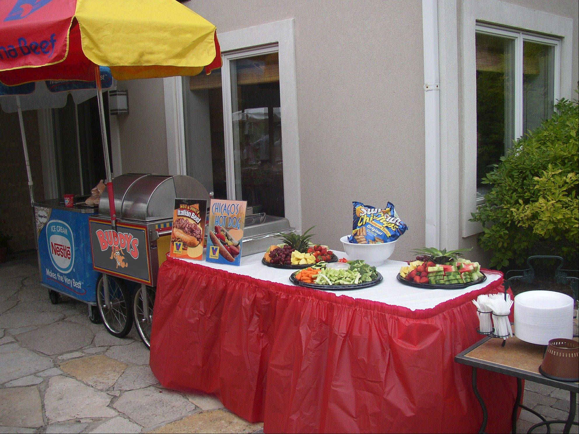Have a variety of food options at your event, as many guests will have special diets and allergy concerns.