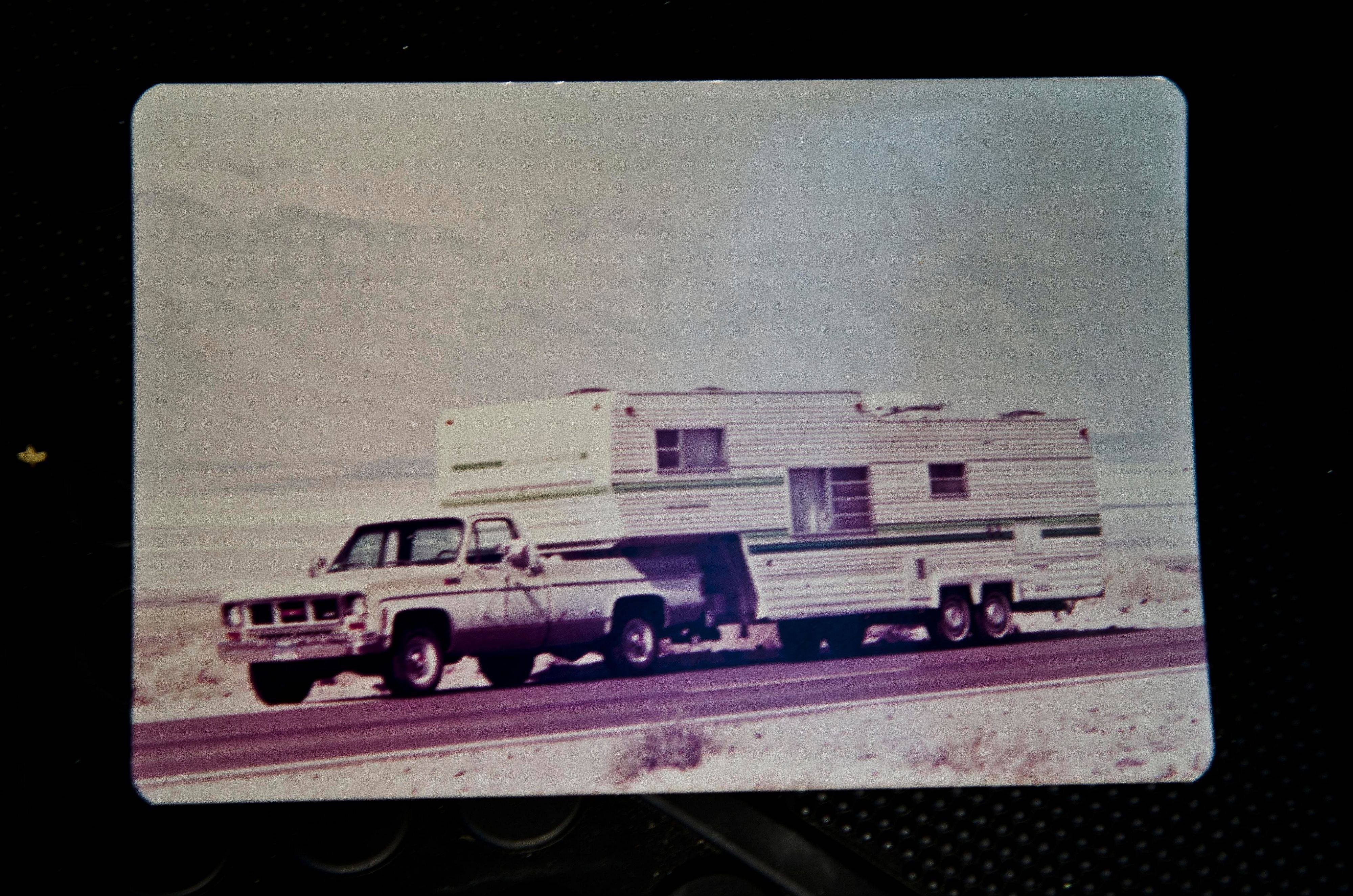Bjorklund's uncle was an avid traveler who for years would bring his truck and camper on Chicago visits from his home on the West Coast.