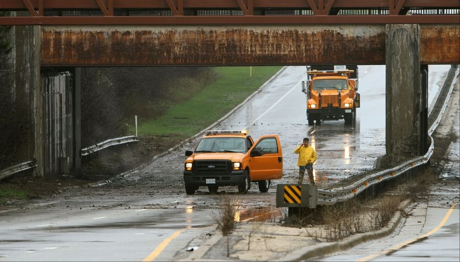 Crucial roads like Route 41 in Gurnee flooded Thursday. But does it have to be like this?