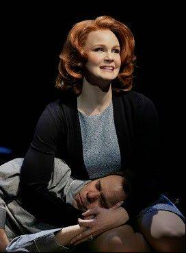 "Kate Baldwin plays Sandra, devoted wife to big dreamer Edward Bloom, the central character in Broadway in Chicago's world premiere of ""Big Fish,"" the musical by John August and Andrew Lippa, directed by Susan Stroman."