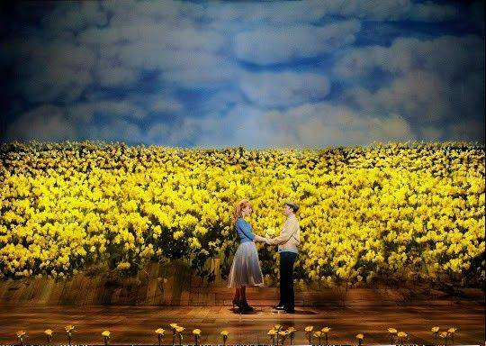 "Edward Bloom's (Norbert Leo Butz) adventures may be fabricated but his love for Sandra (Kate Baldwin) is all real in the musical ""Big Fish"" based on Tim Burton's 2003 film and the 1998 novel by Daniel Wallace."