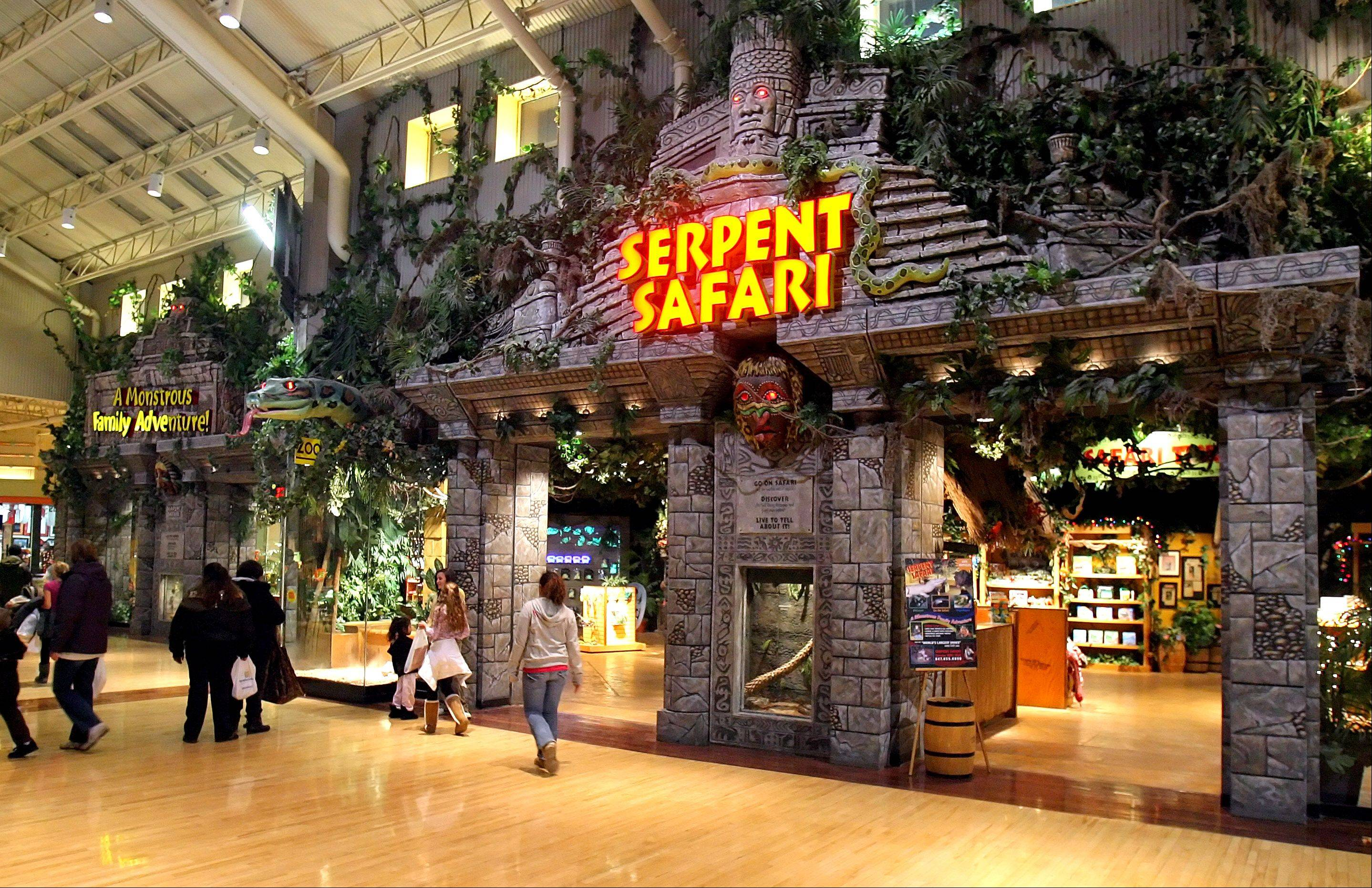 Serpent Safari at Gurnee Mills closed last week.