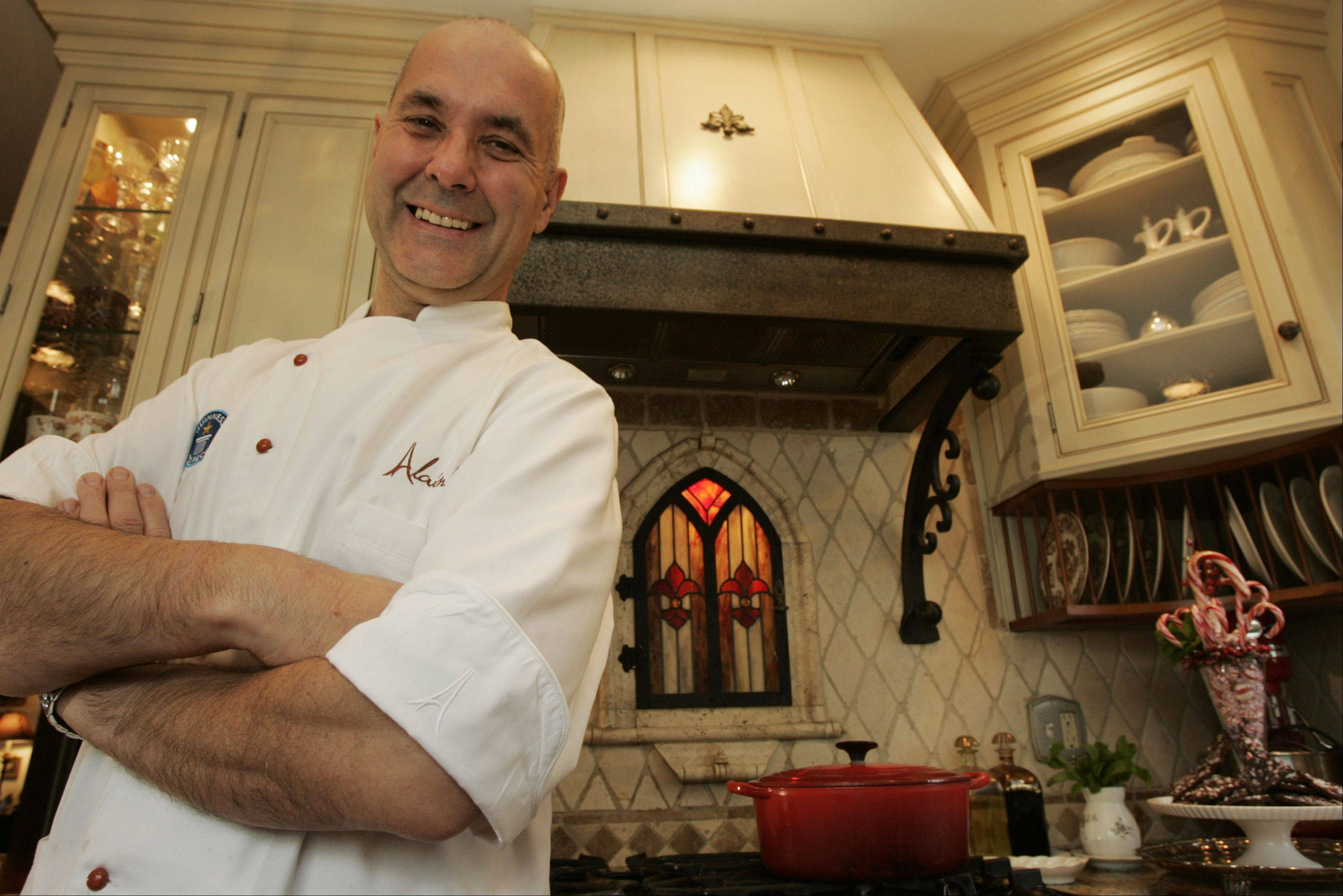 Alain Roby, Geneva pastry chef and owner of All Chocolate Kitchen, was named Pastry Chef of the Year 2013 by the Chicago Culinary Museum and will be inducted into its Chefs Hall of Fame later this year.