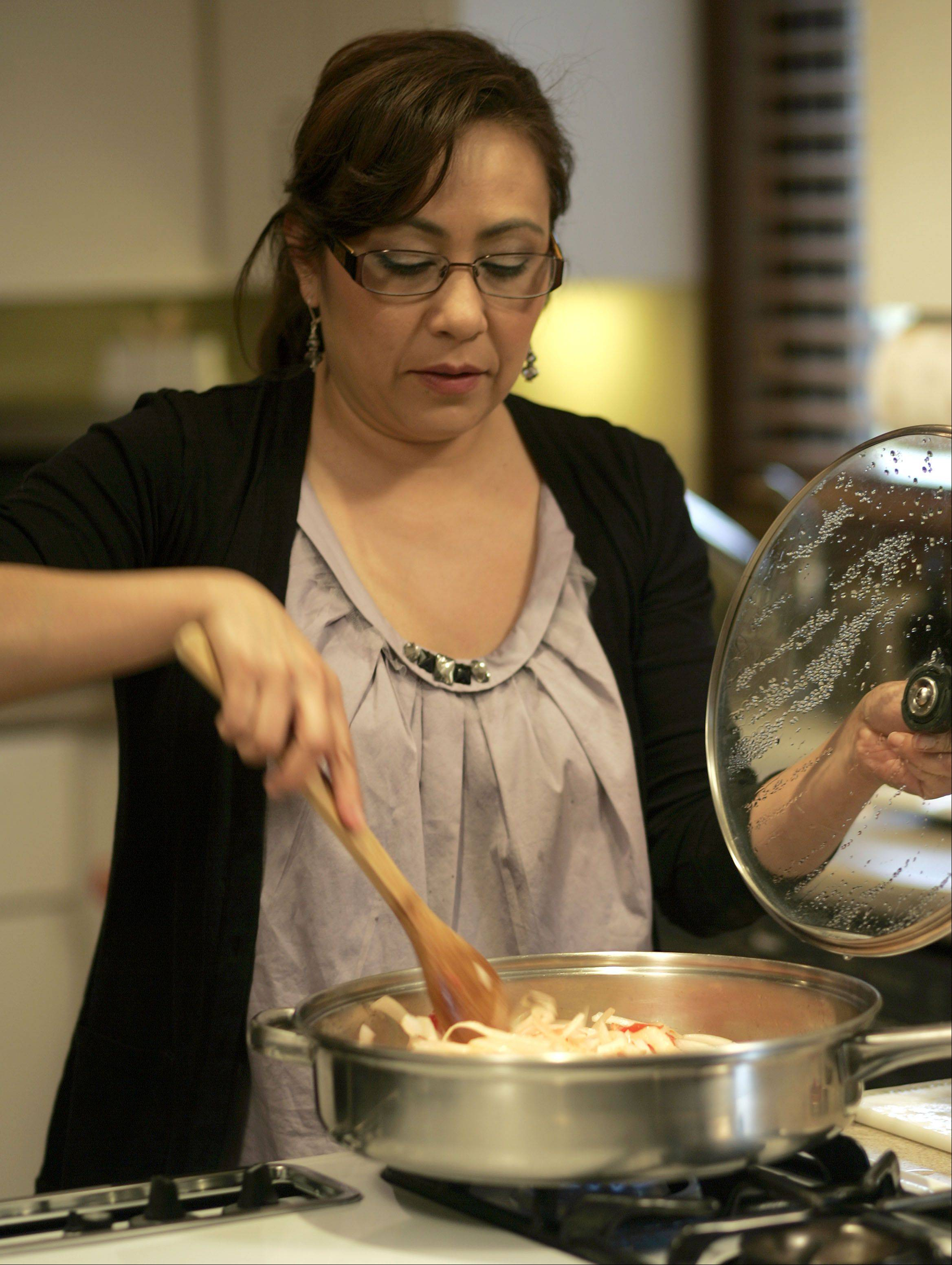 Yadira Soter creates authentic Mexican food in her St. Charles kitchen.