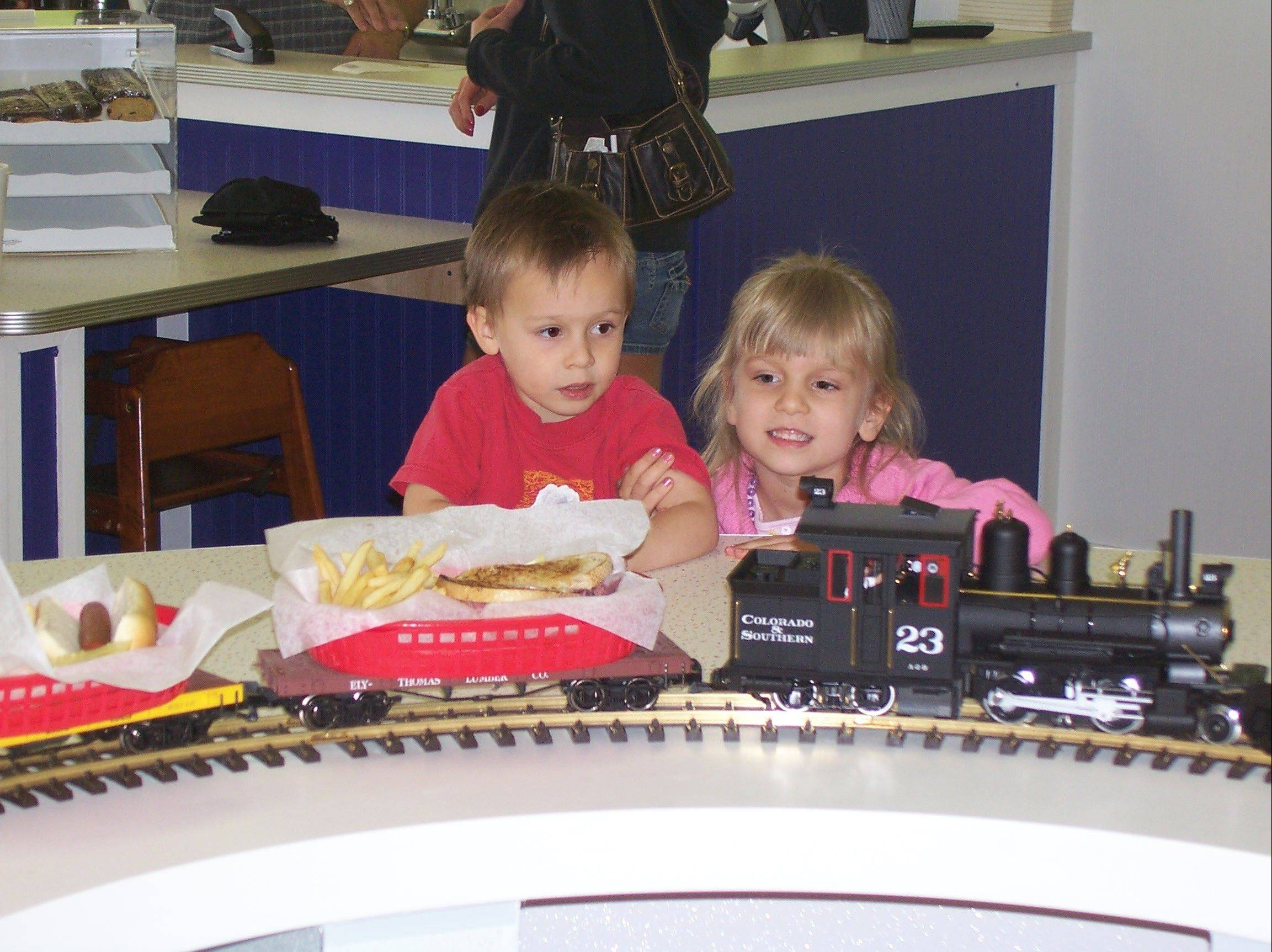 All Aboard Diner gives train-loving kids a place to have fun while they eat -- or host a birthday party.