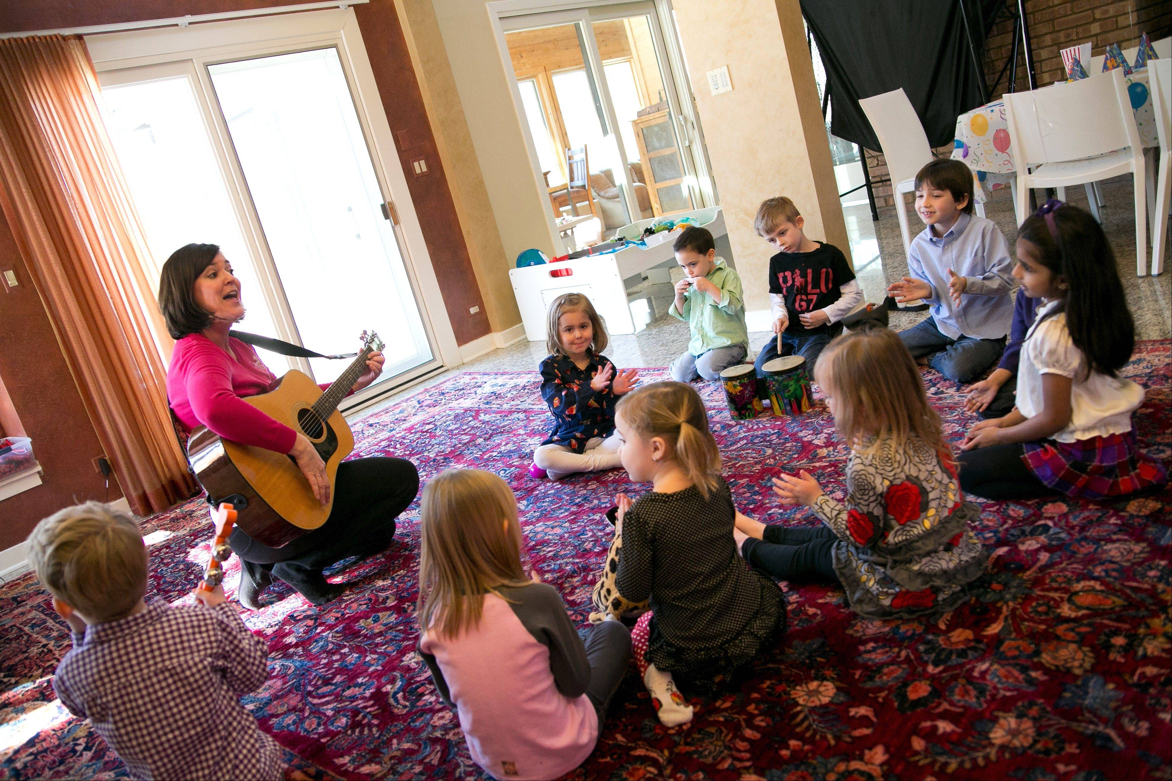Miss Christy Music will keep the kids entertained and dancing to the music at their birthday party. Miss Christy provides instruments and props so everyone can join in the music-making.