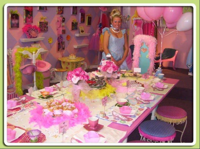 My Party Princess will turn the birthday girl into a princess for the day, but the themes also include spa, diva, doll and more.