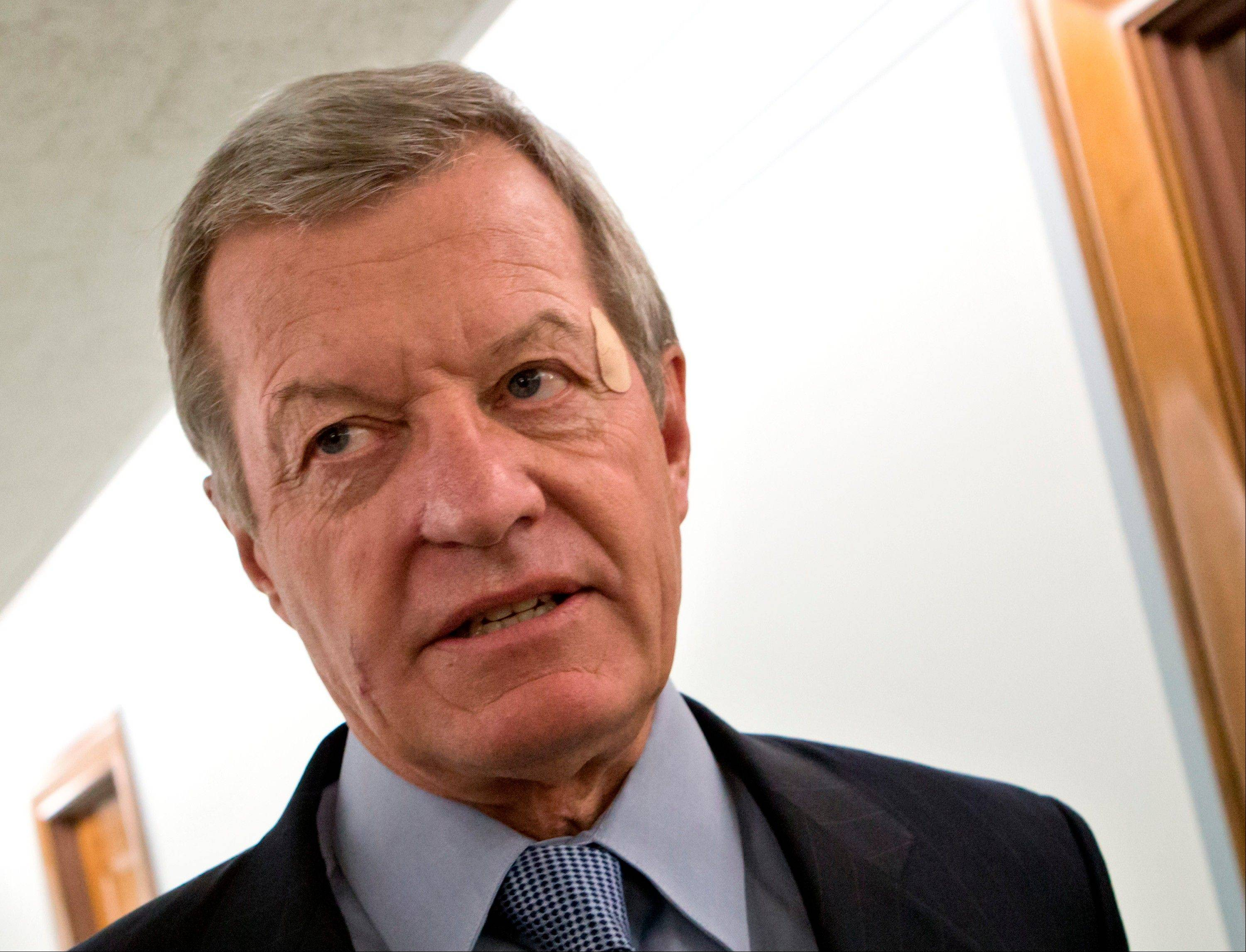 Senate Finance Committee Chairman Max Baucus, D-Mont., plans to retire.