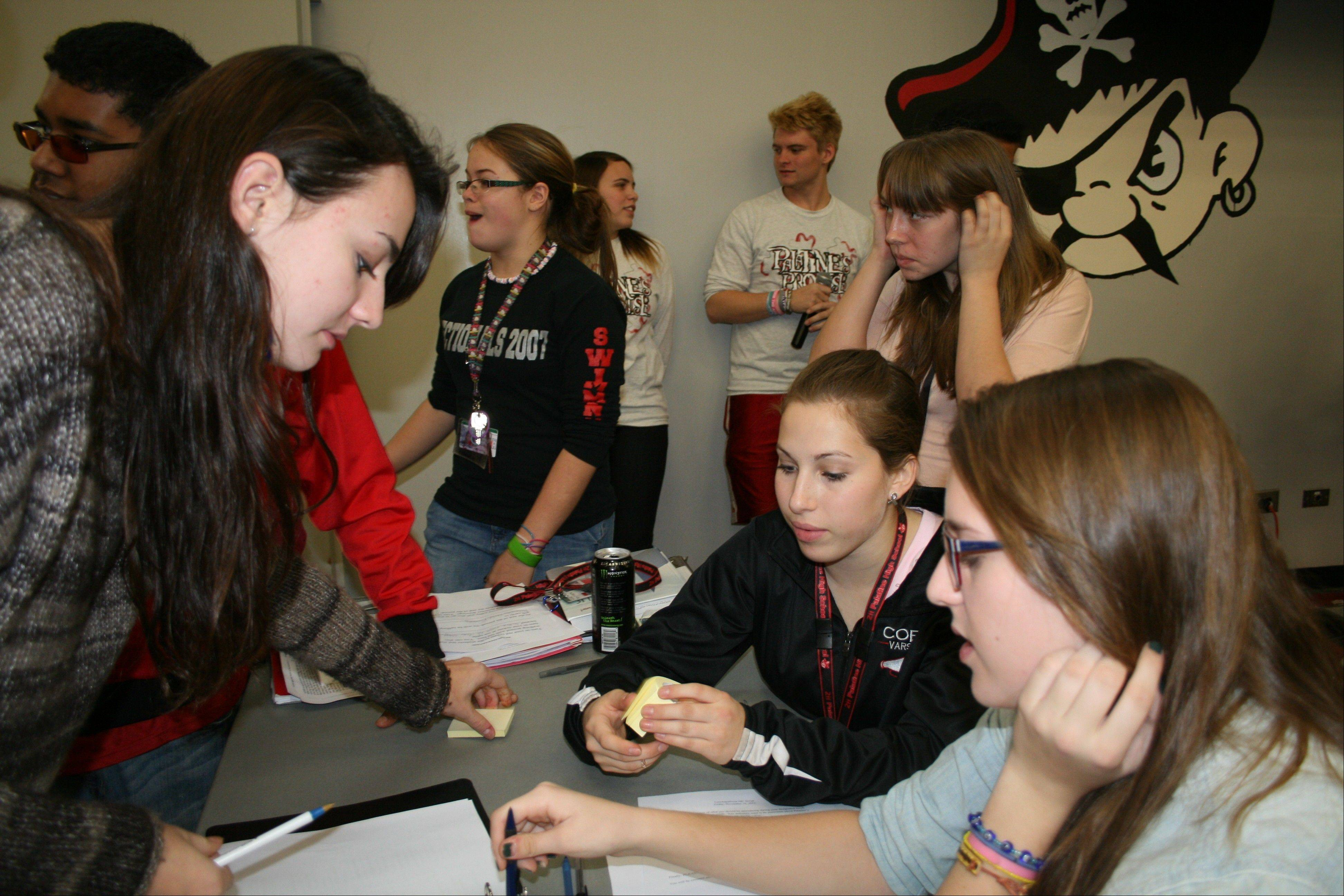 Palatine High School's Lunchapalooza event encourages anti-bullying messages and an overall acceptance of others.