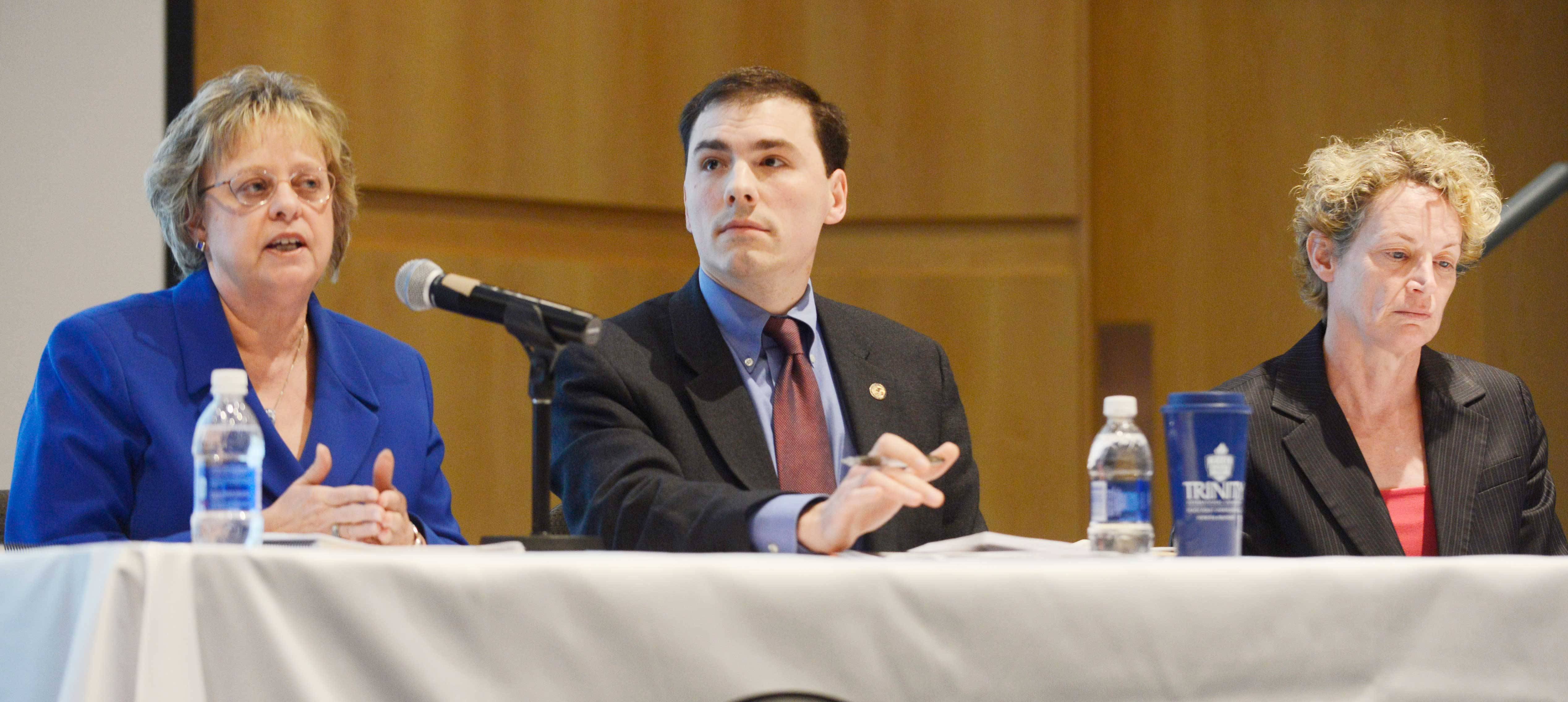 Stakeholders debate state pension reform at Palatine forum