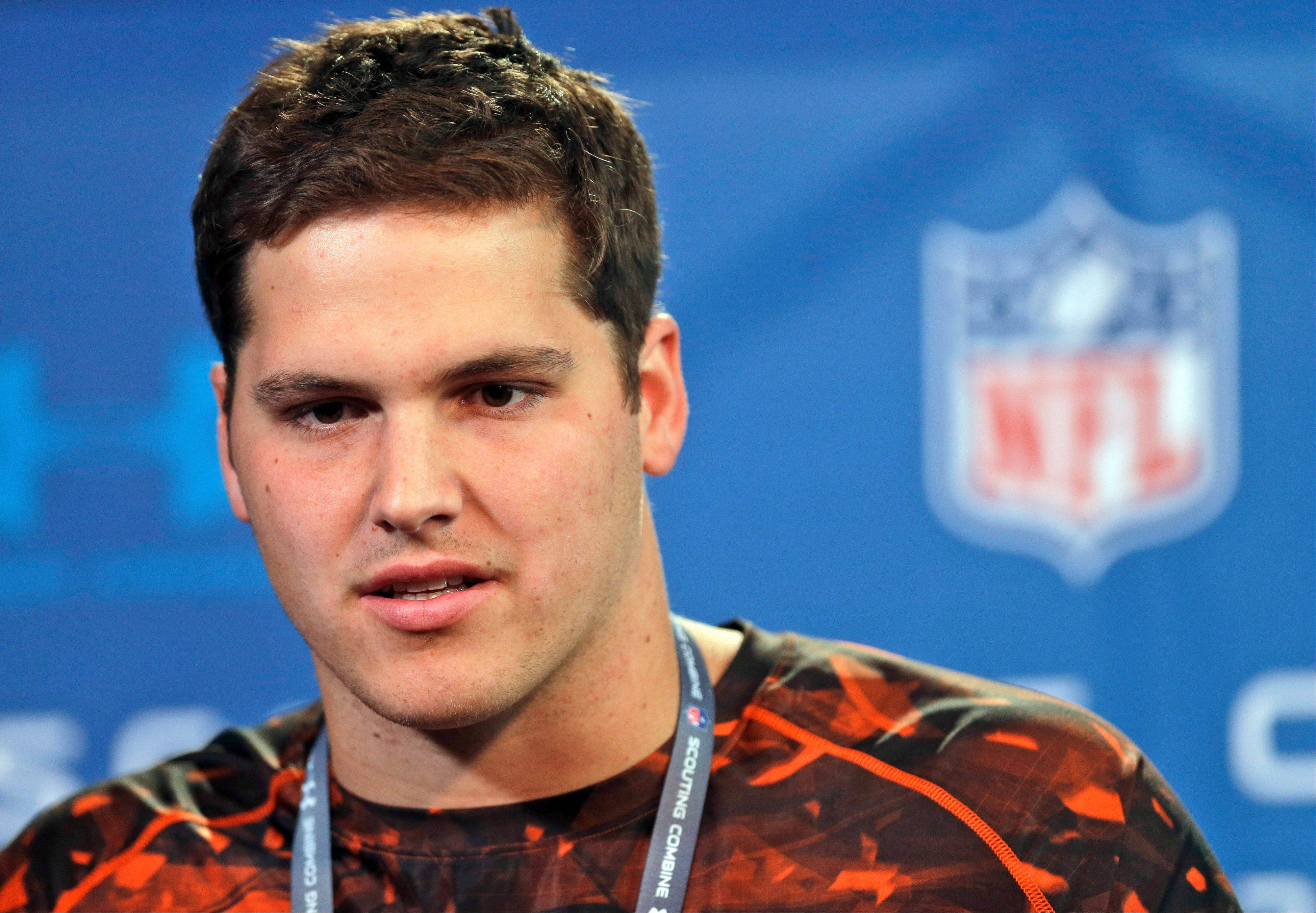 Offensive tackle Luke Joeckel is expected to be selected with the first pick in the NFL Draft.
