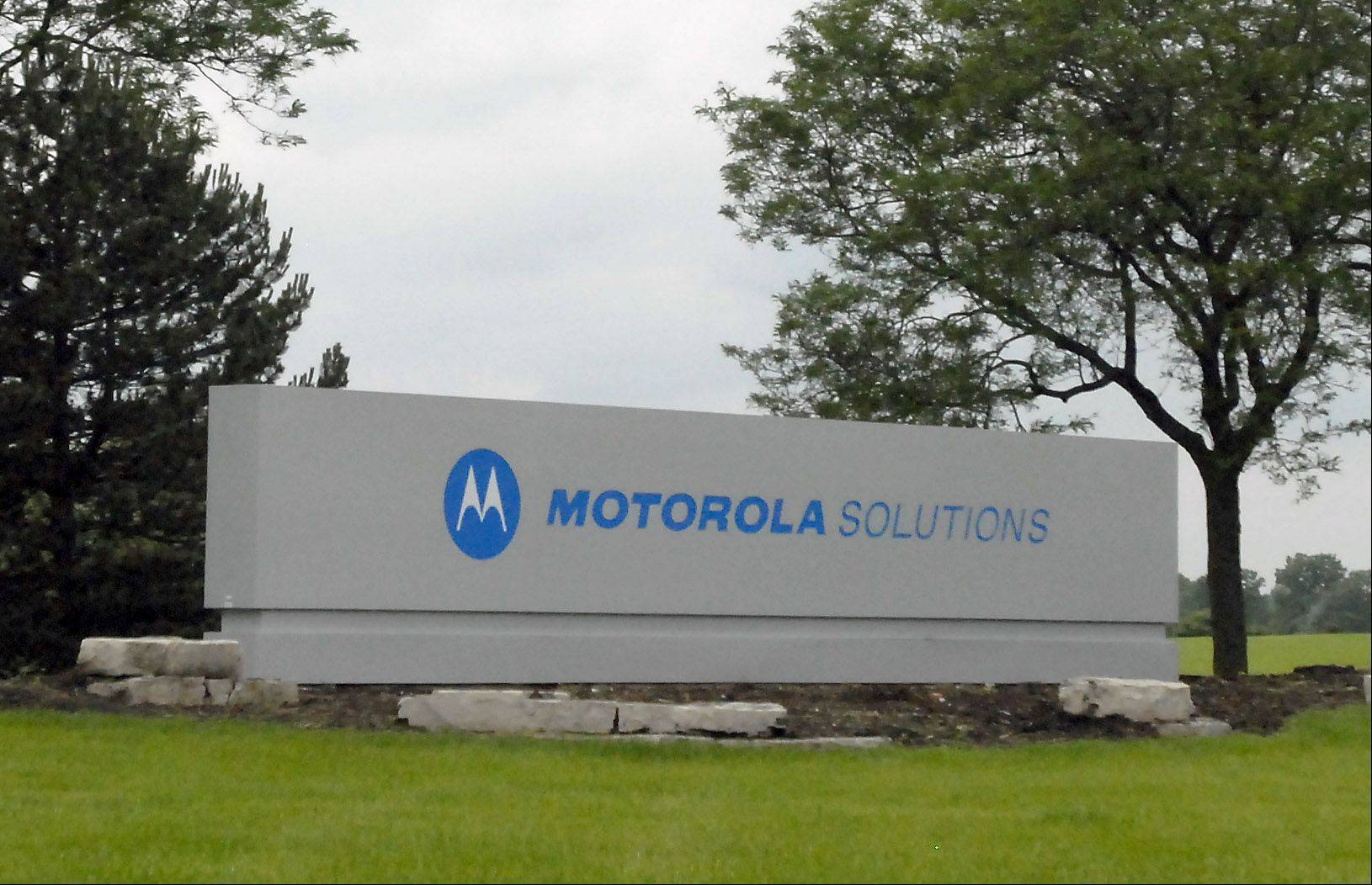 Motorola Solutions headquarters in Schaumburg.