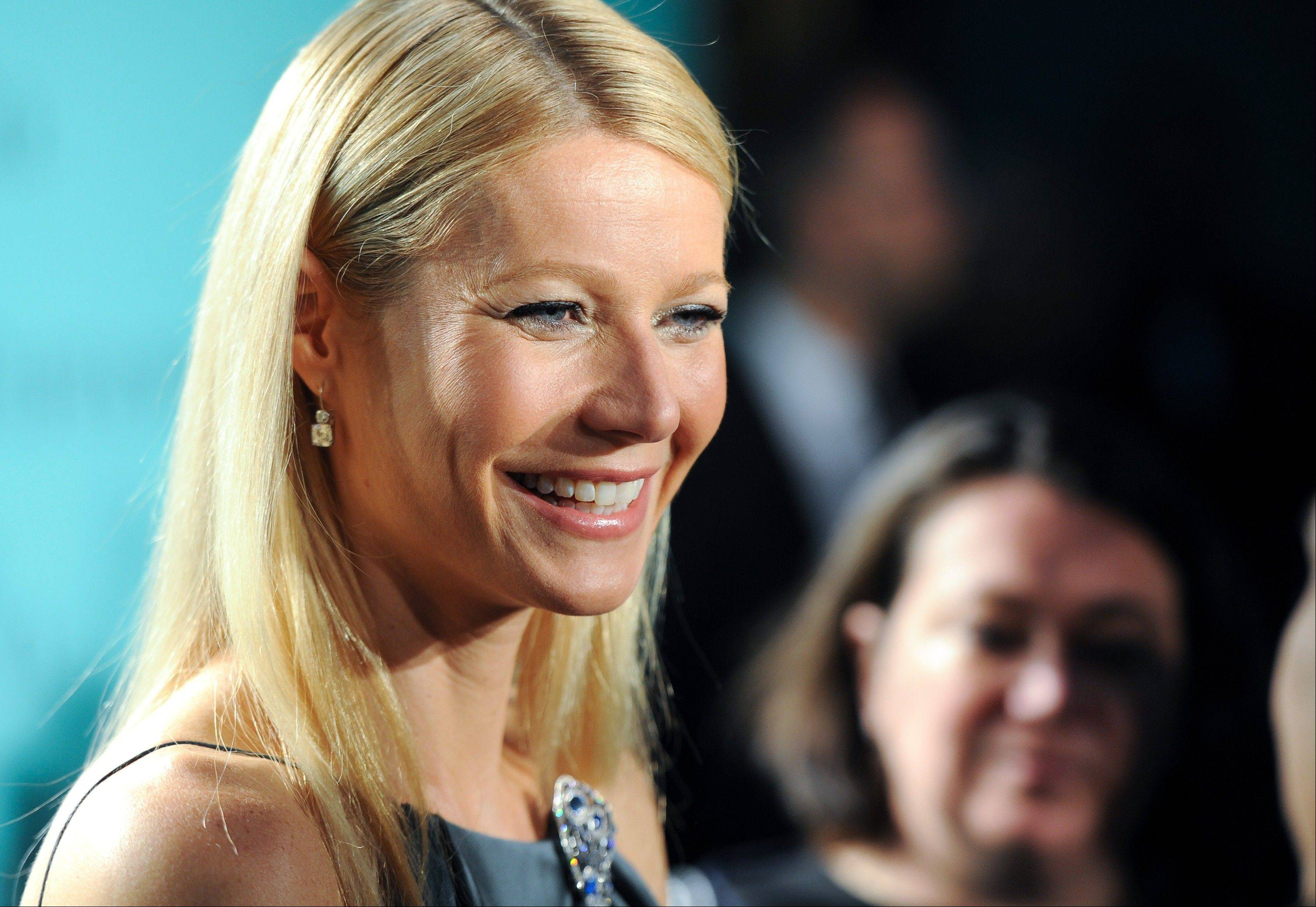 People magazine has named actress Gwyneth Paltrow as the World's Most Beautiful Woman for 2013.