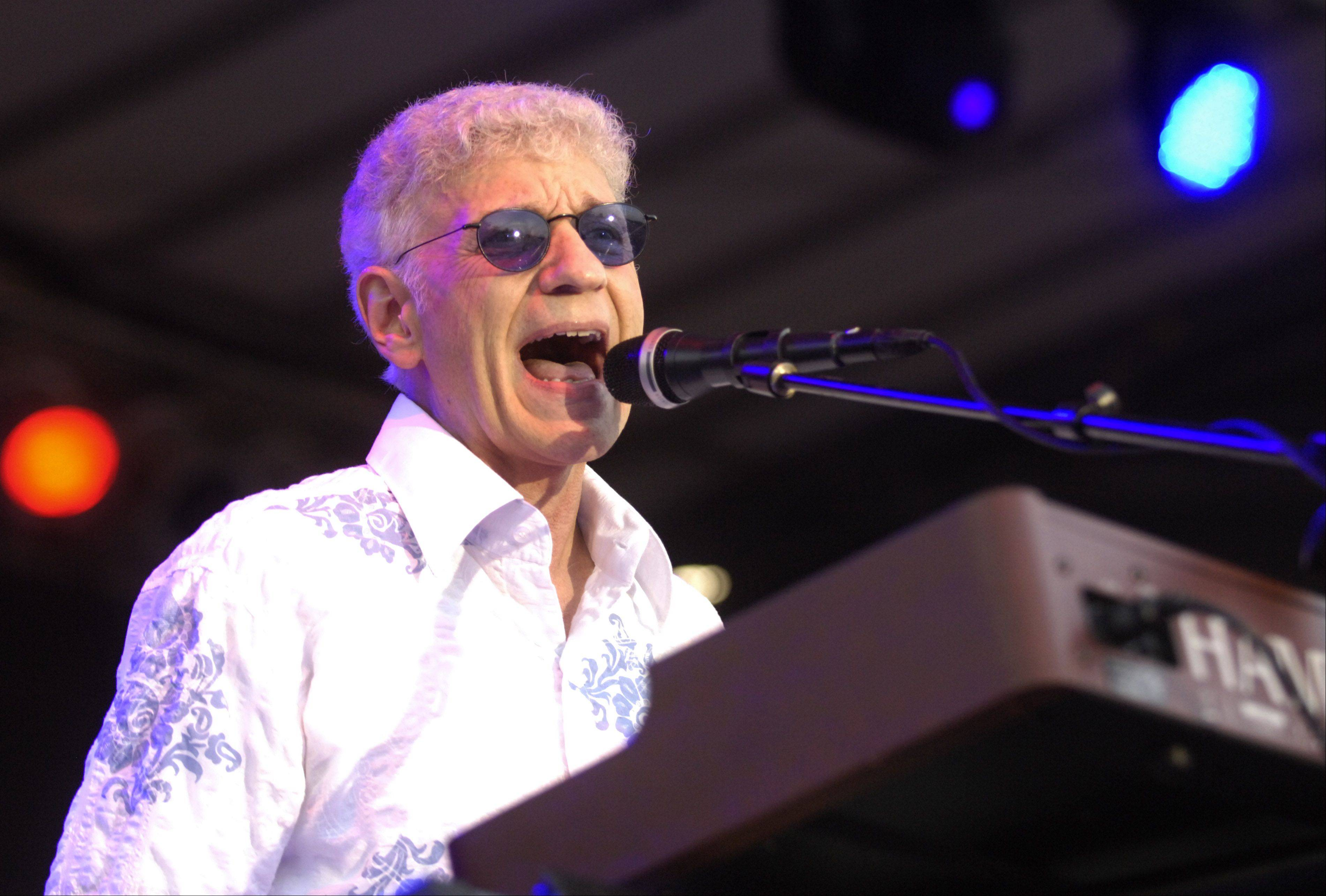 Dennis DeYoung headlines the Arcada Theatre in St. Charles Saturday, April 27.