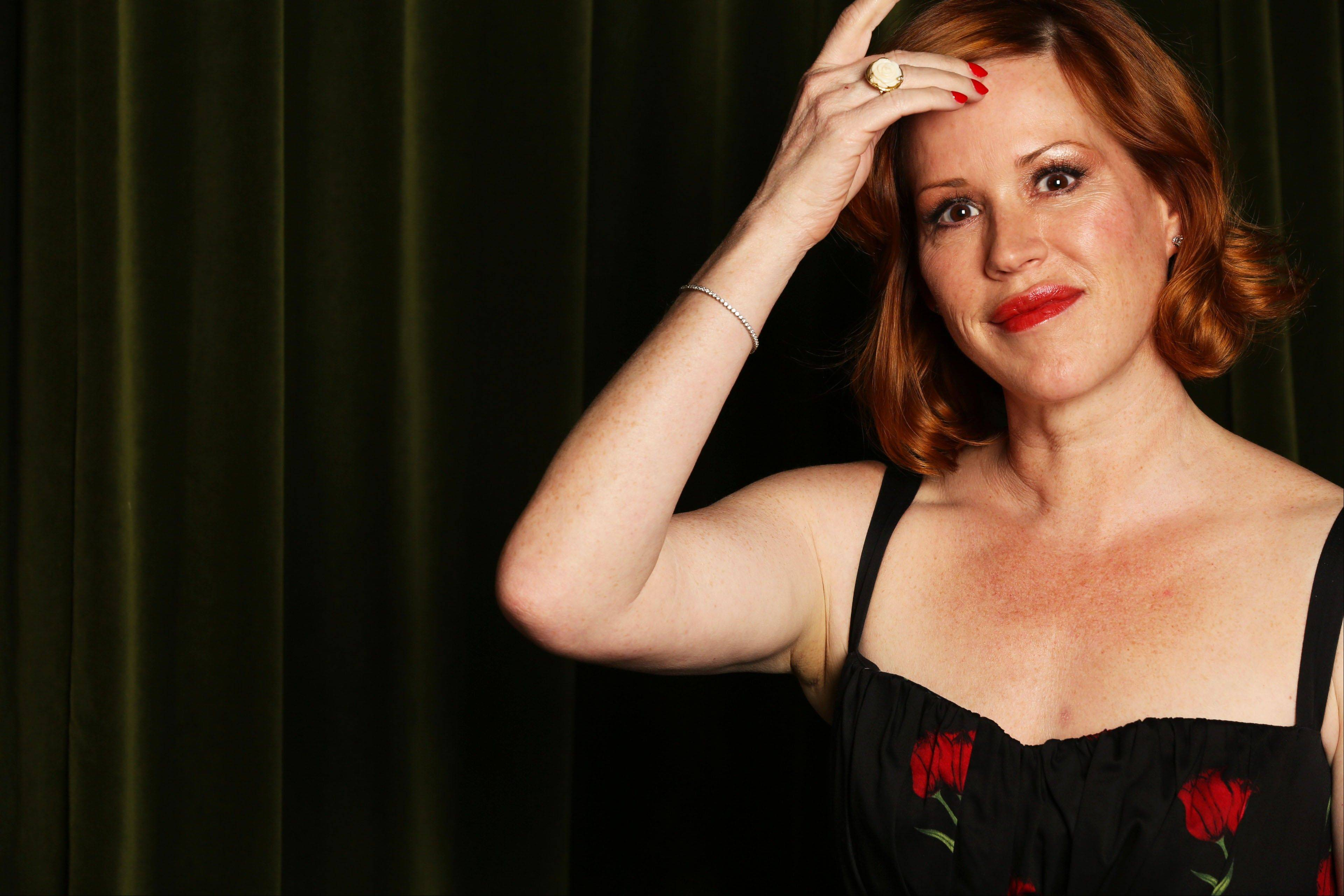 "Actress-singer Molly Ringwald released her latest CD, ""Except Sometimes,"" earlier this month."