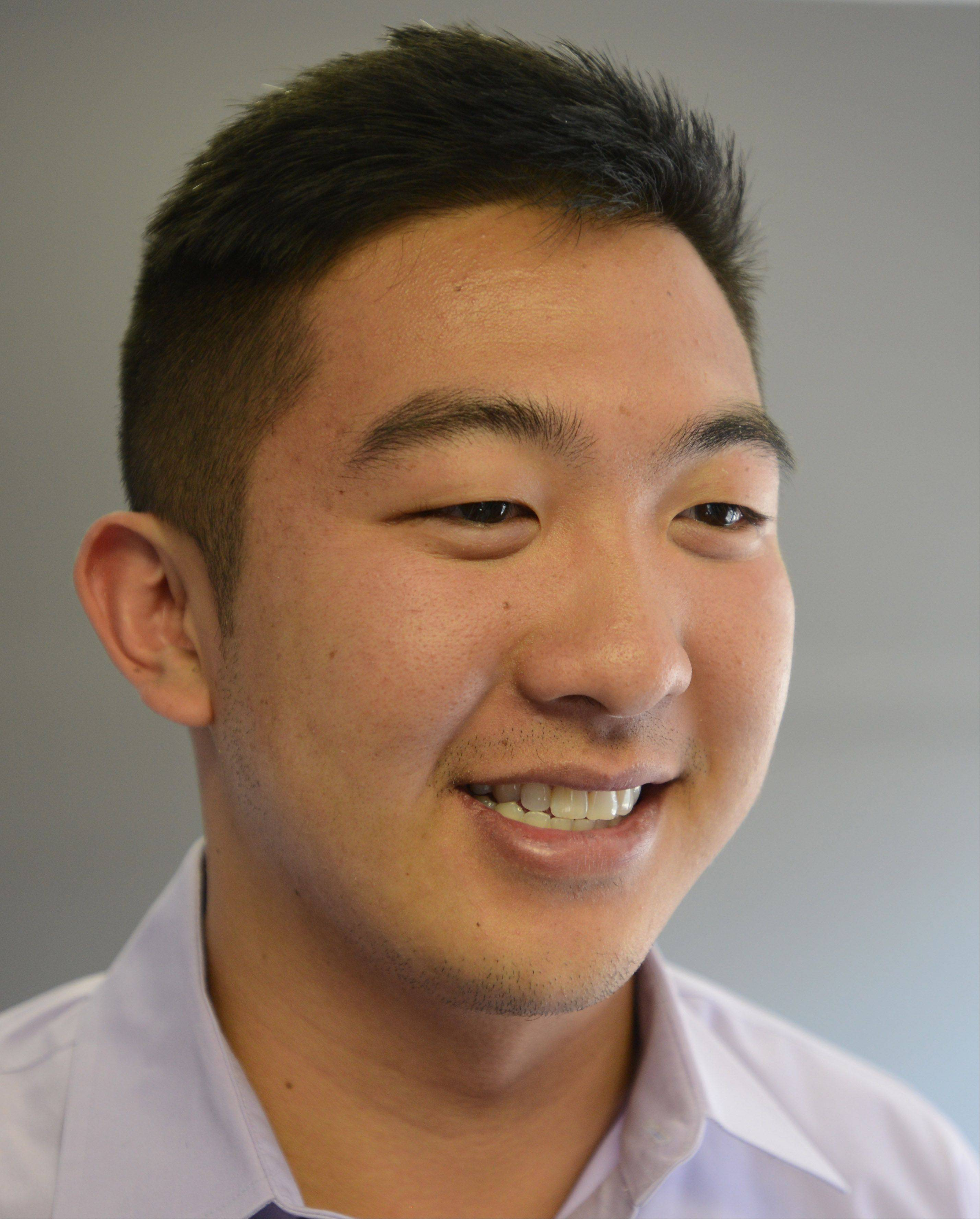 Wilbur You, 22, says he had the drive to create something tangible since he was a kid. He is the CEO and founder of Youtech & Associates in Naperville.