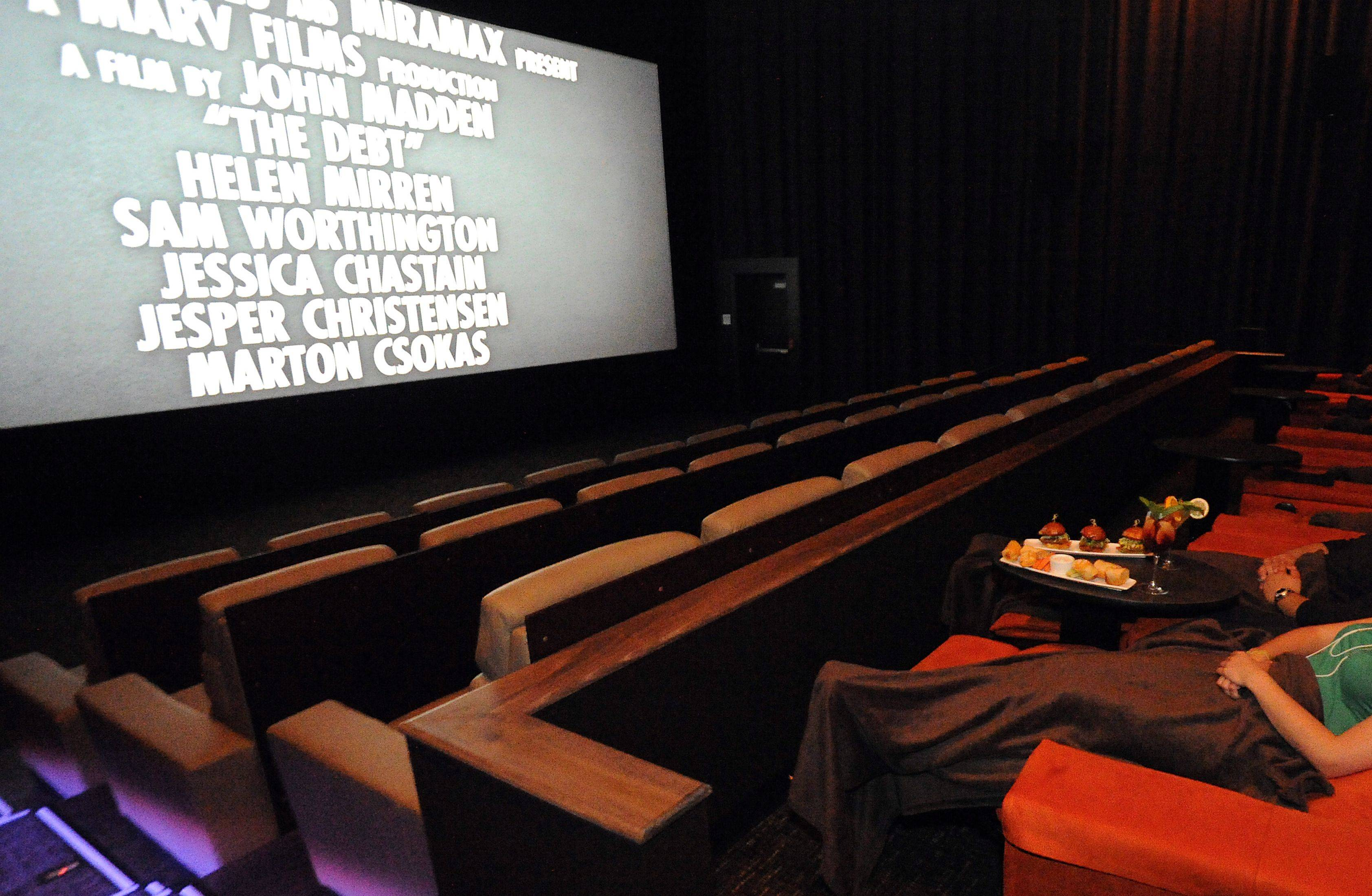 Food from the Salt Sports Bar can be brought into the iPic theater so dinner and a movie is closer than you can imagine.