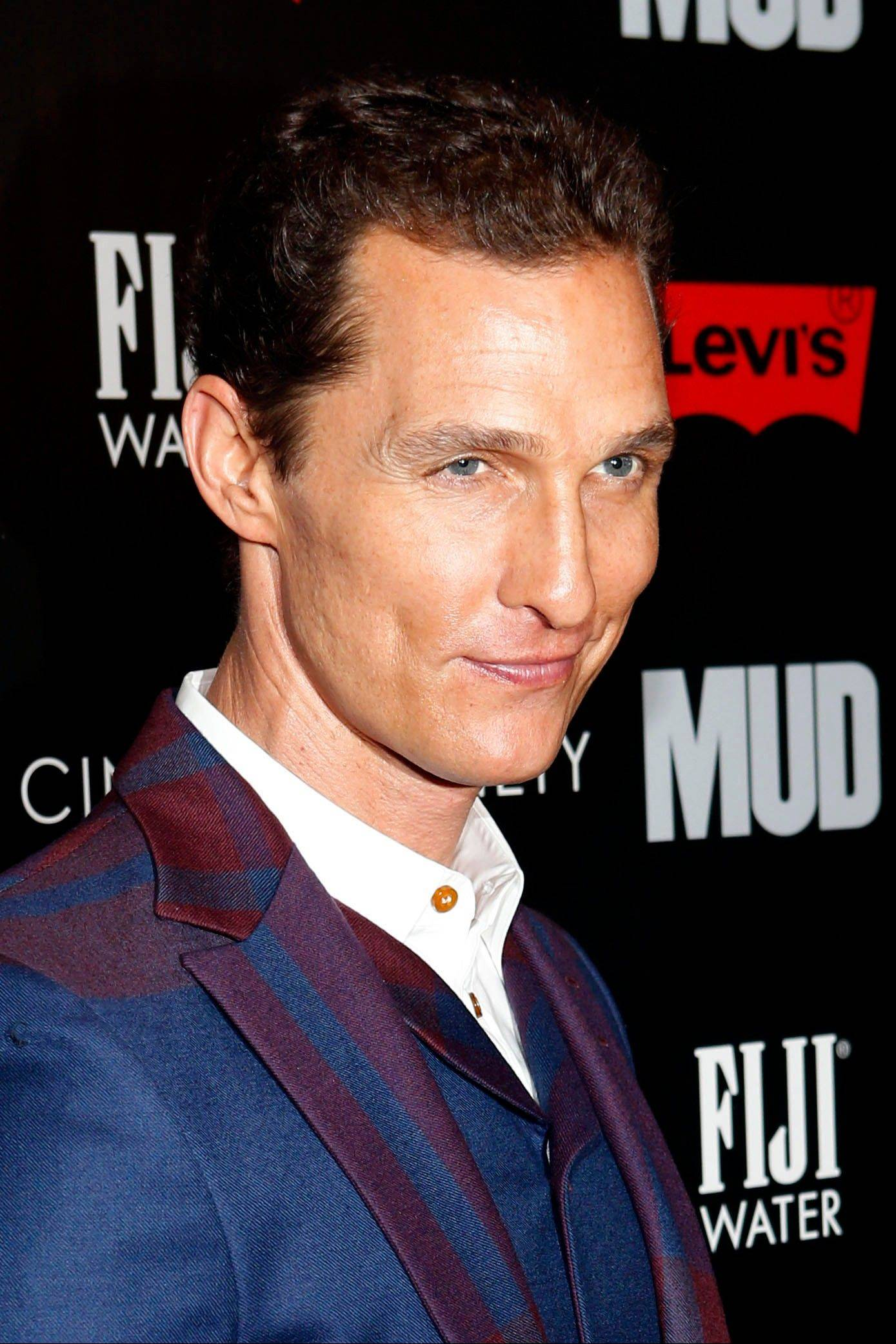 Matthew McConaughey says he learned how to make negative reviews a positive learning experience.