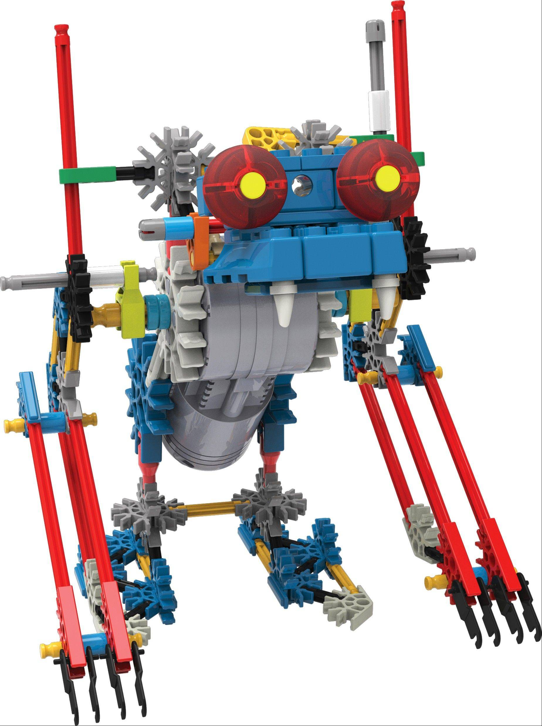 A K�NEX Robo Creature can be built individually then attached to make even more elaborate creatures. Open ended creativity is something parents are looking for in toy purchases.