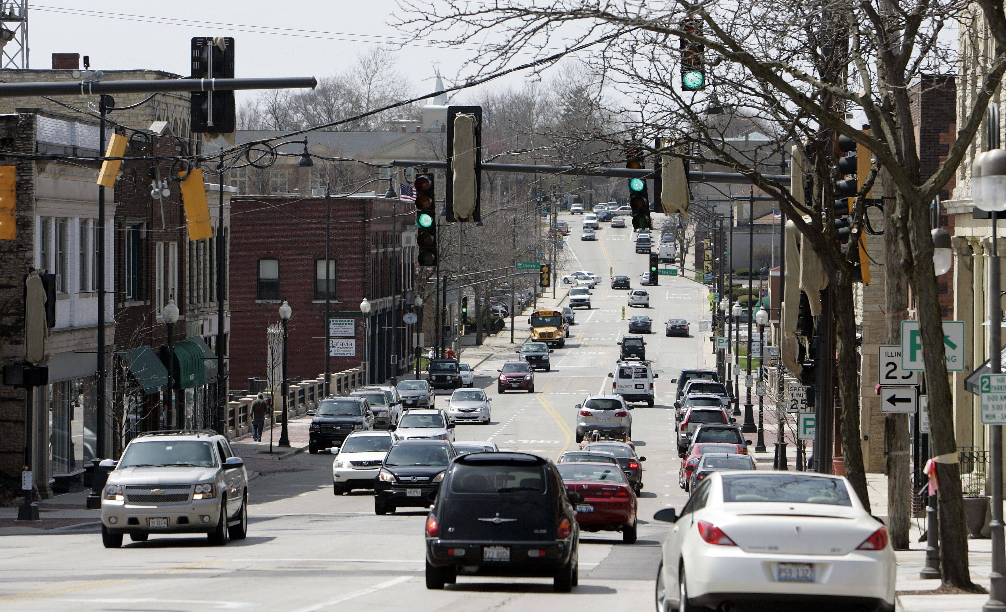 A host of improvements are planned along along Wilson Street in Batavia.
