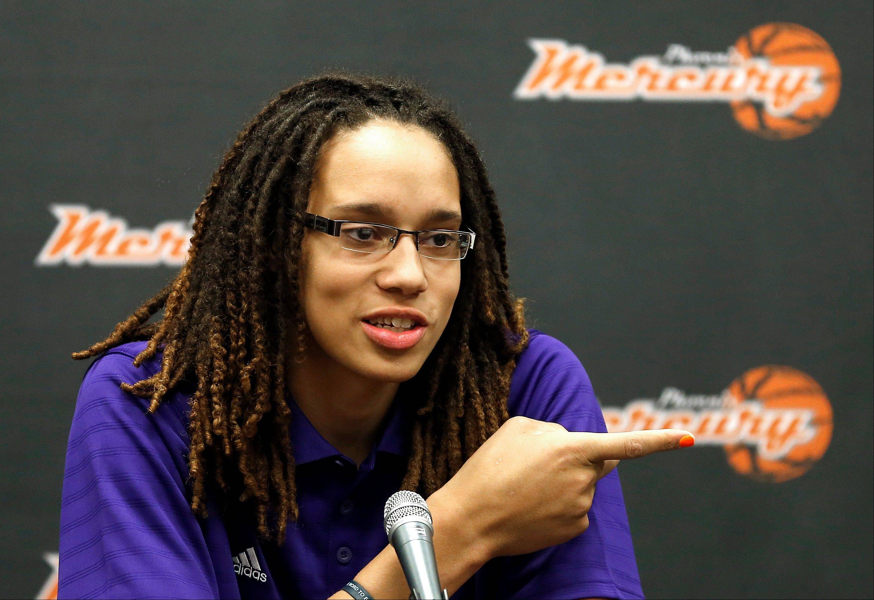 Brittney Griner, the No. 1 overall pick the WNBA draft, will be showcasing her talent this summer with the Phoenix Mercury.