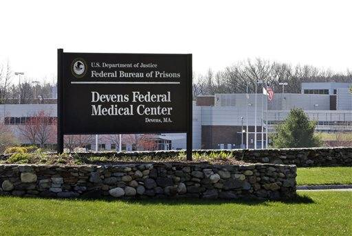 This is the entrance of the Devens Federal Medical Center (FMC) in Devens, Mass. The U.S. Marshals Service said Friday that Dzhokhar Tsarnaev, charged in the April 15, 2013 Boston Marathon bombing, had been moved from a Boston hospital to the federal medical center at Devens, about 40 miles west of the city.