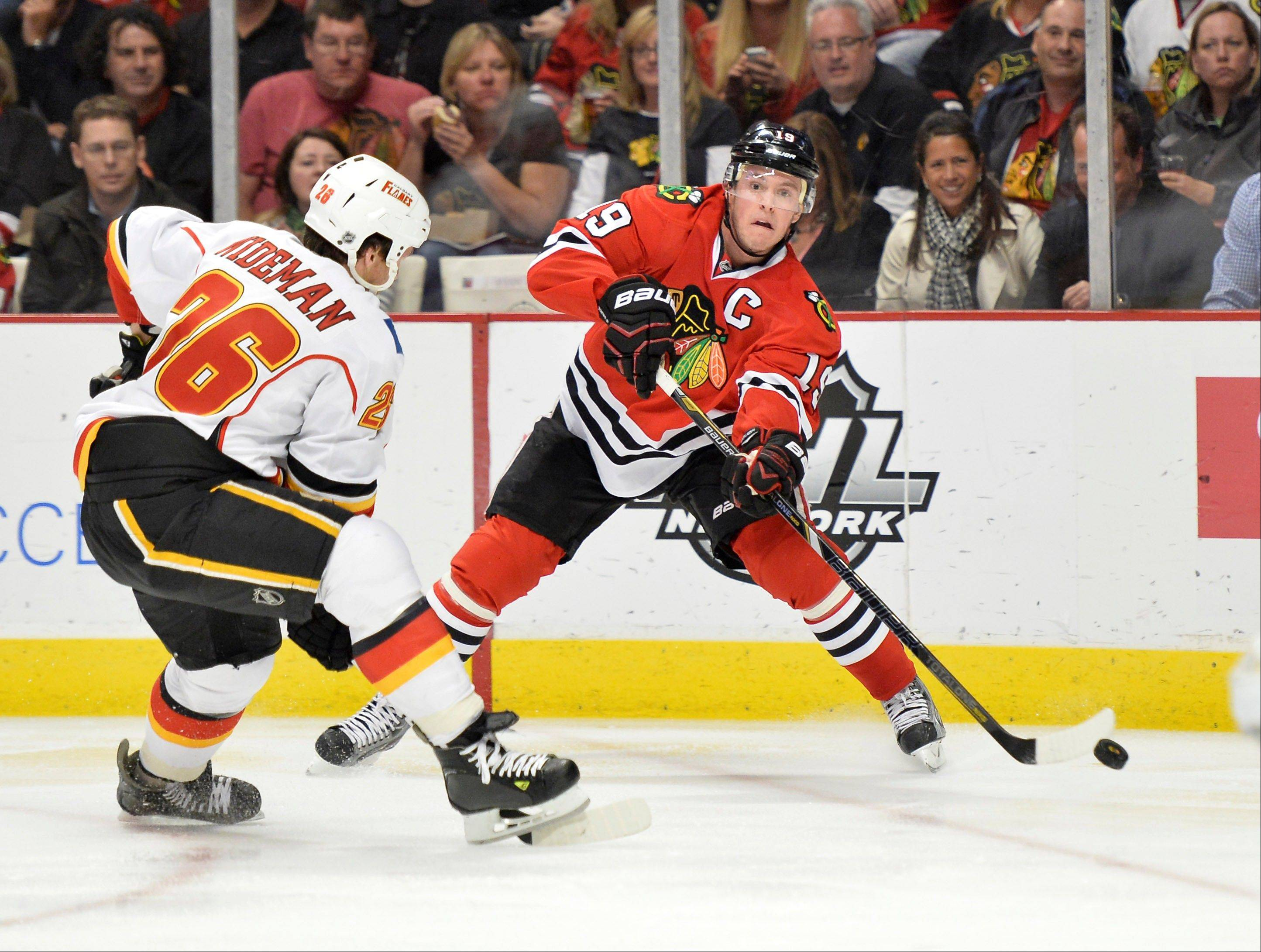 Health always is an issue in the Stanley Cup playoffs, and the Blackhawks can ill afford to lose a handful of players, none more so than captain Jonathan Toews.