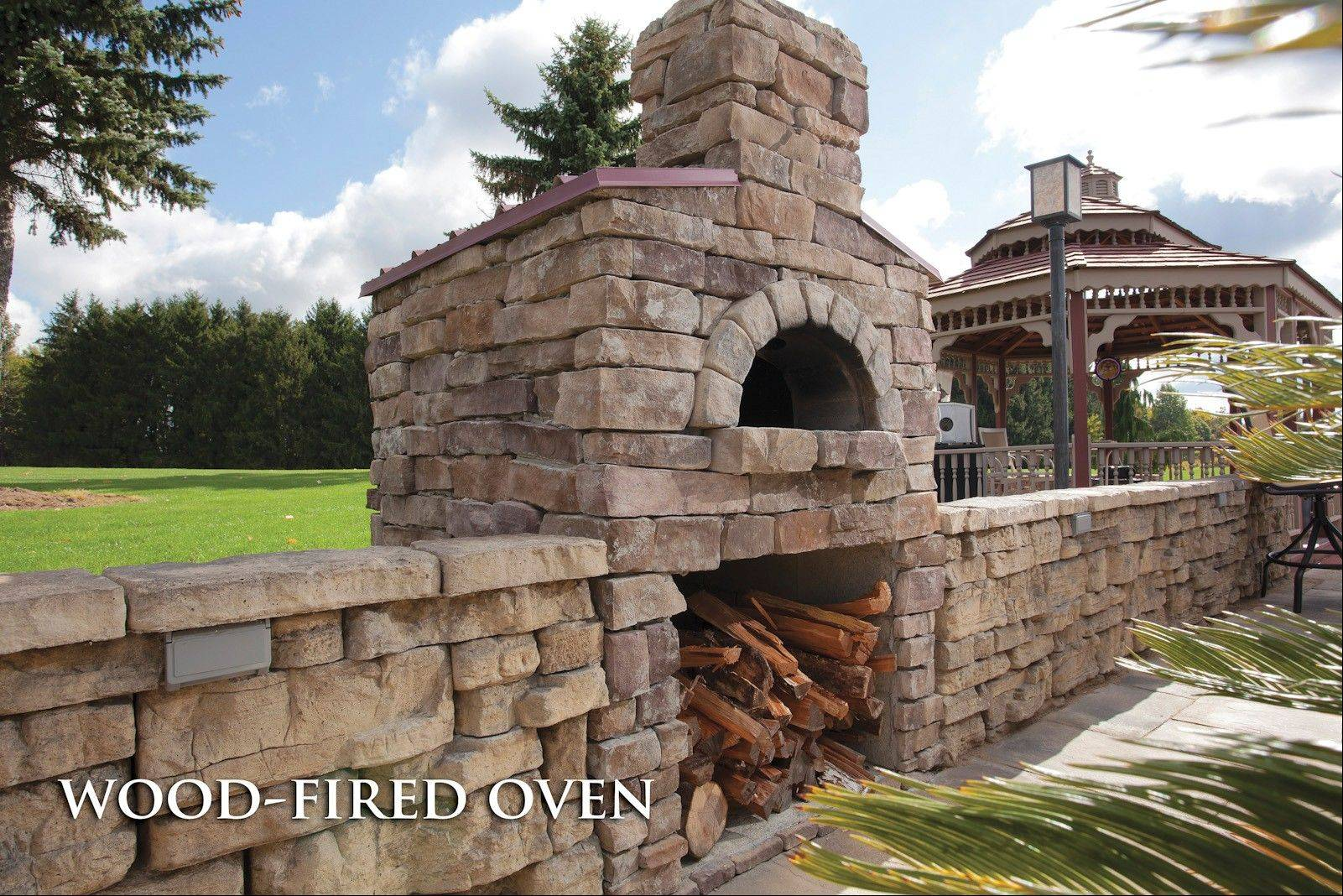 Construction of the company's wood-fired oven kit generally takes about a week, a big benefit over the months it can take to build one from scratch.