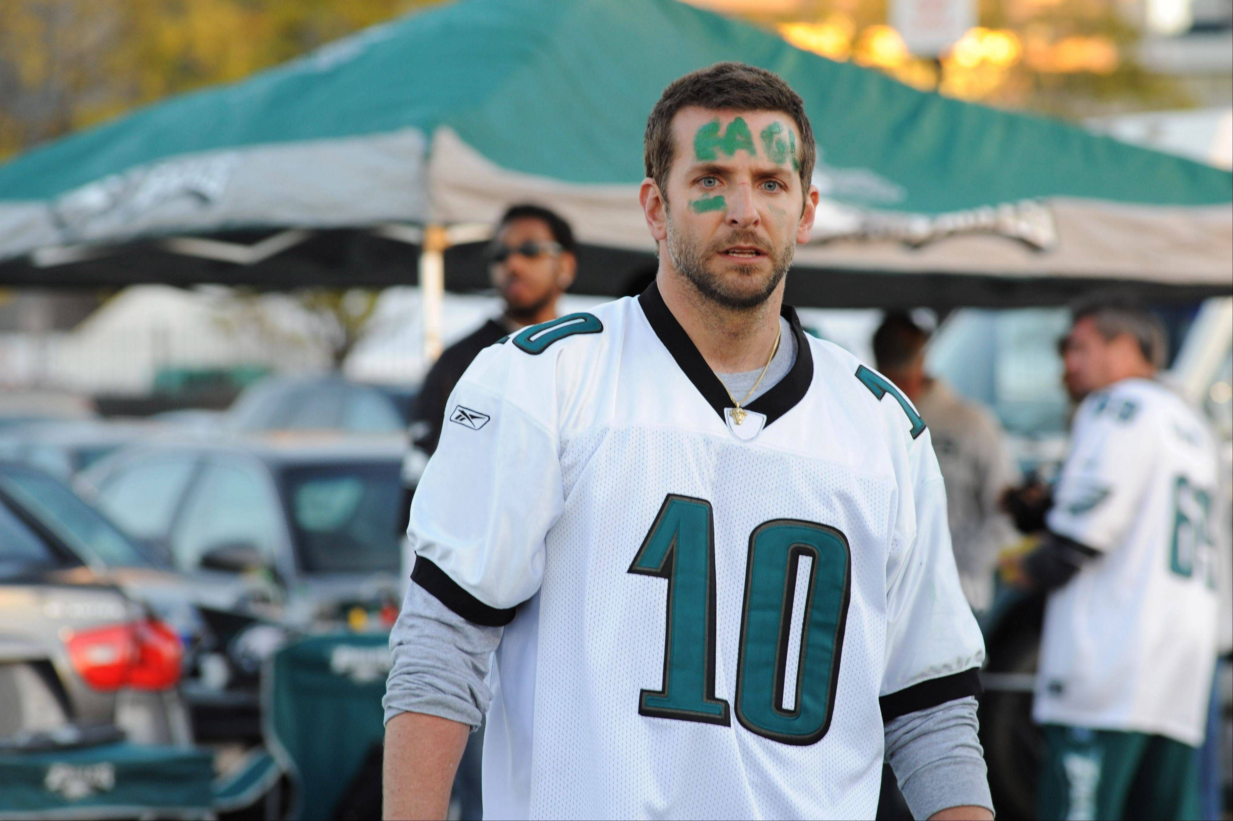 "Bradley Cooper stars in the drama ""Silver Linings Playbook."""