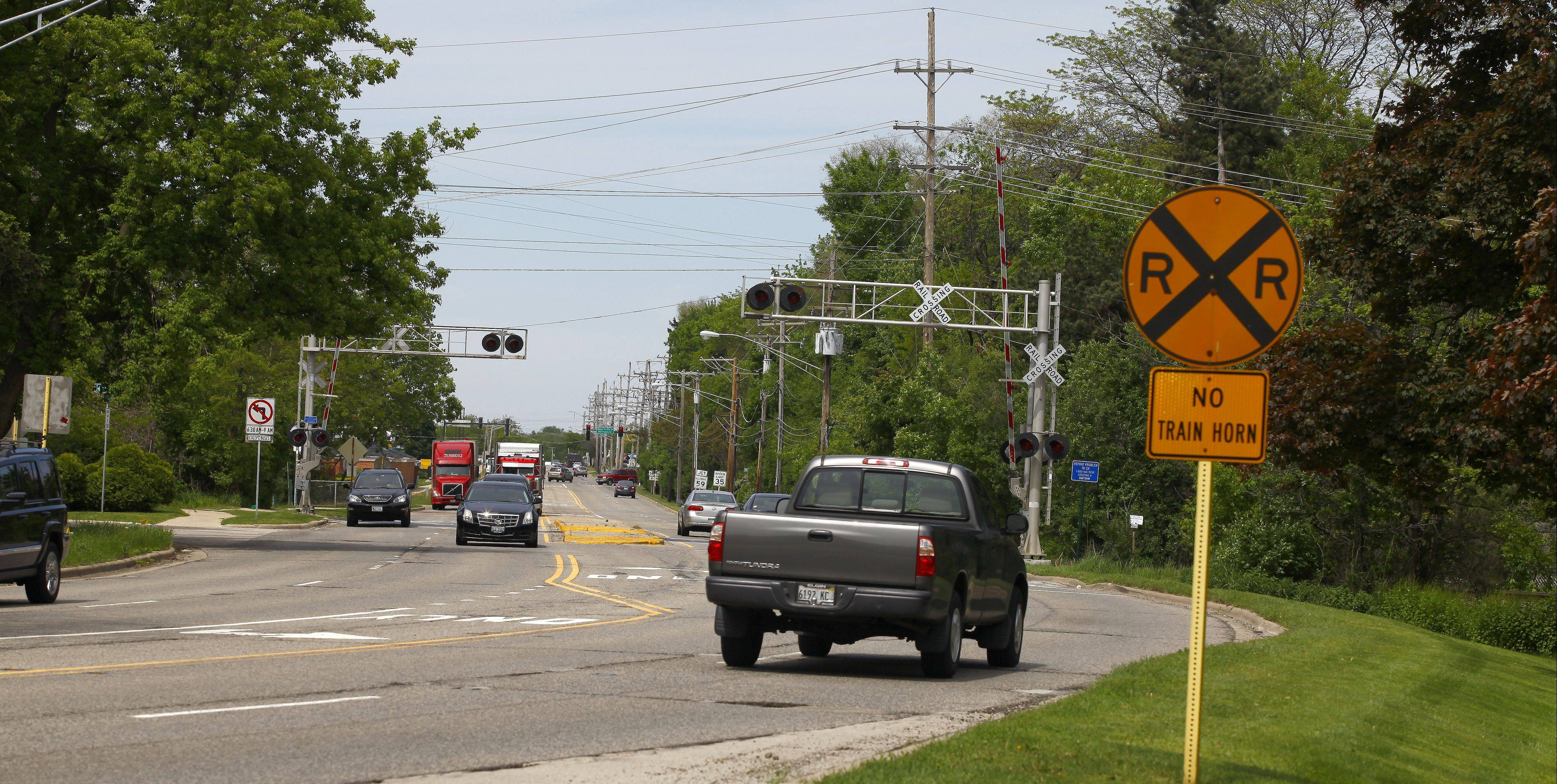 Barrington officials are weighing public input on whether to seek an overpass or an underpass on Route 14 at the Canadian National railroad crossing near Lake Zurich Road.
