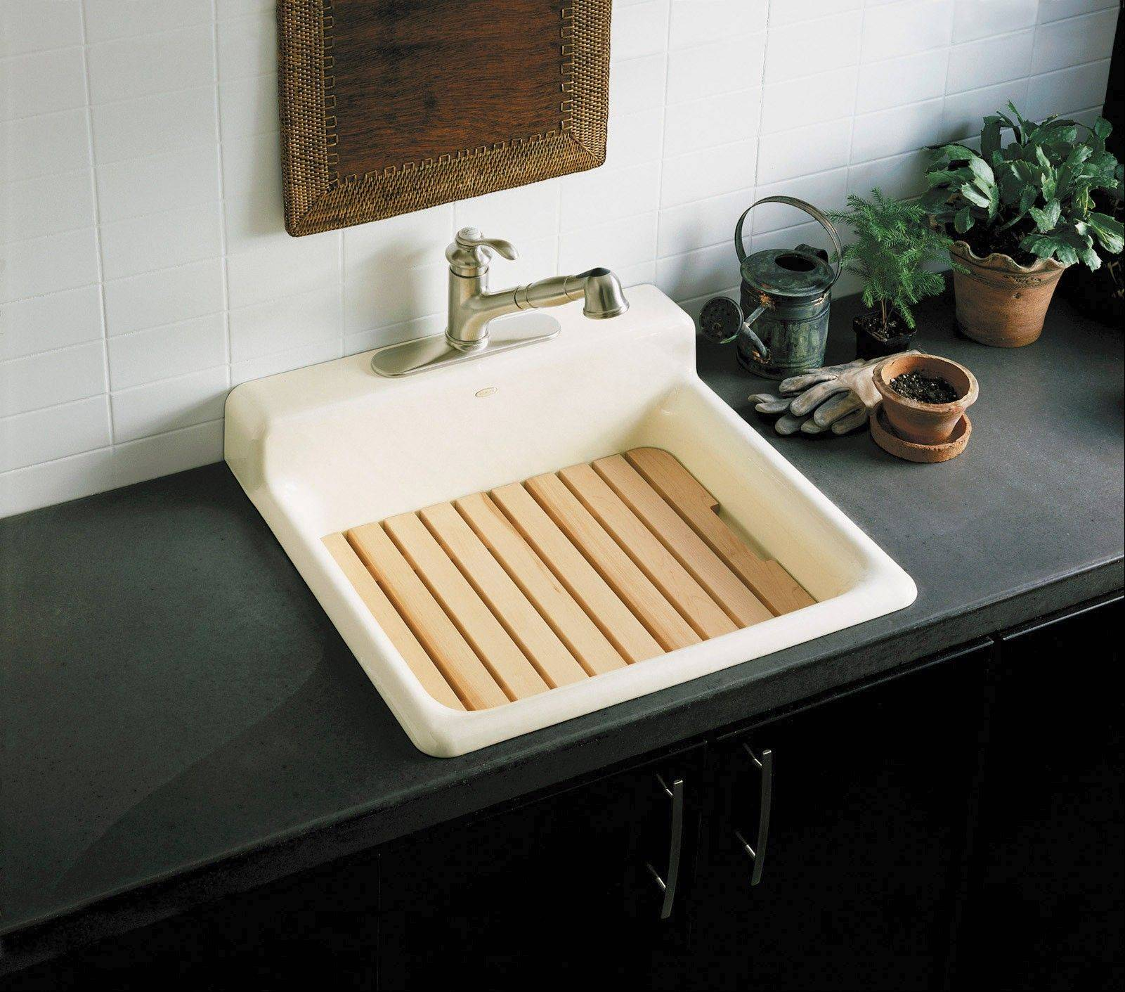 In today's plumbing market, you have great choices for laundry sinks.