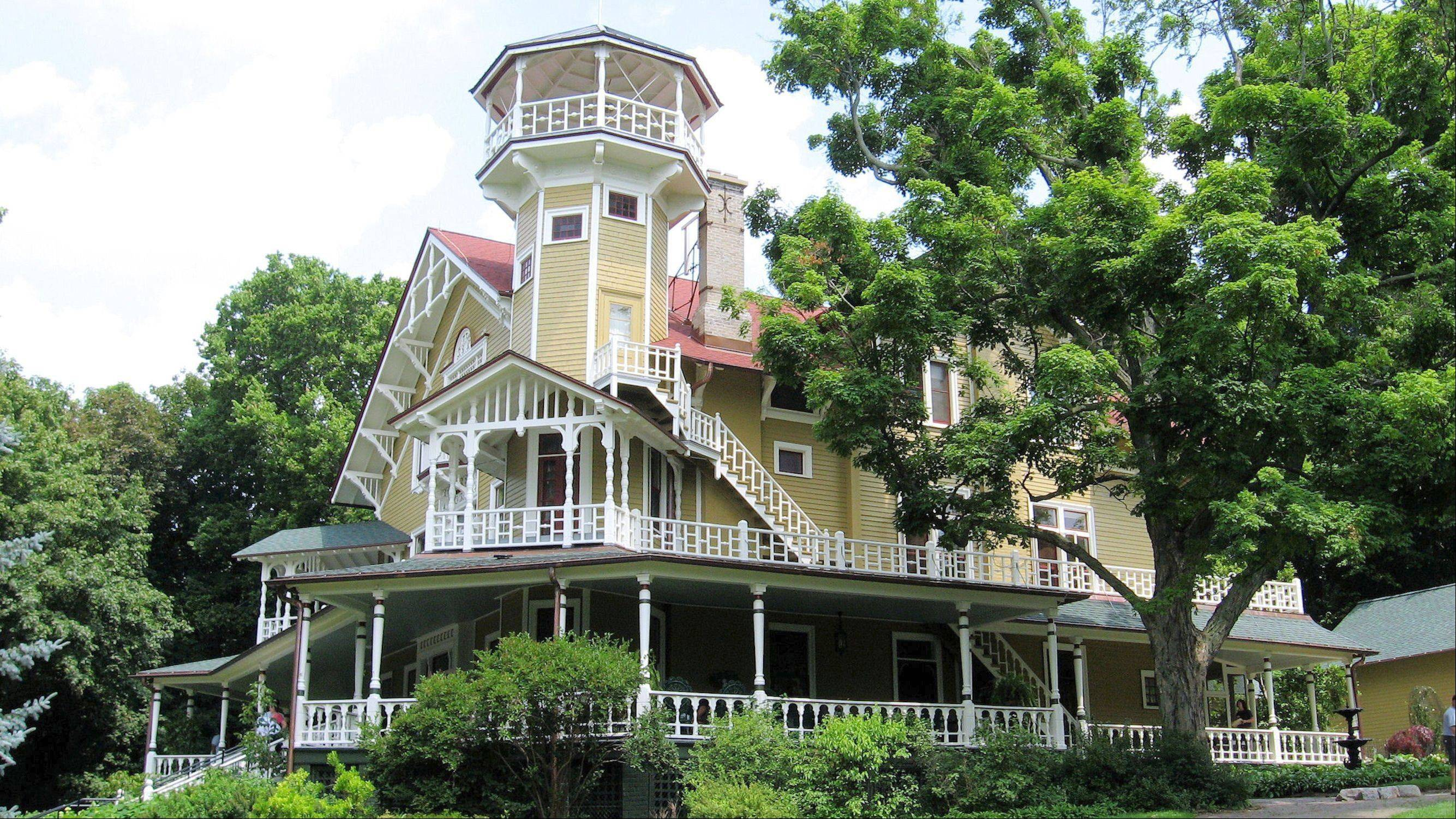 Cruise Lake Geneva to tour the restored gardens and 20-room Black Point Mansion, built in 1888.