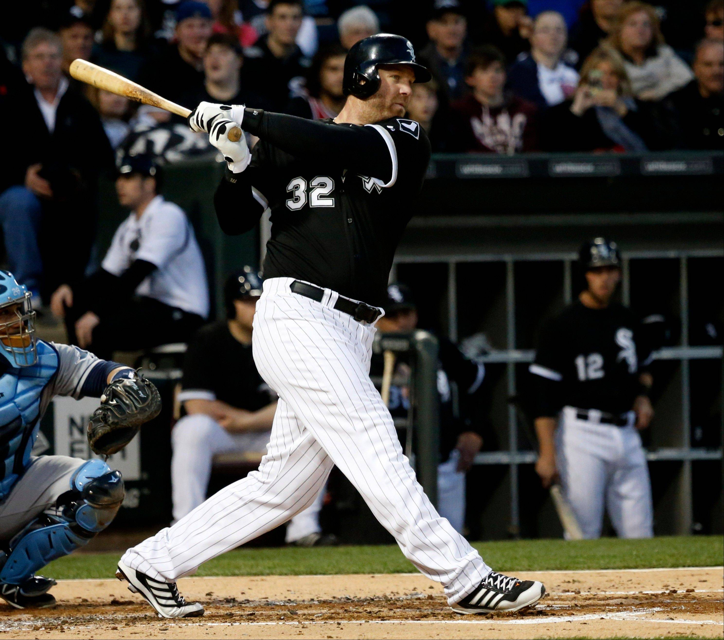 After a difficult start, White Sox designated hitter Adam Dunn finally had a good weekend at the plate.