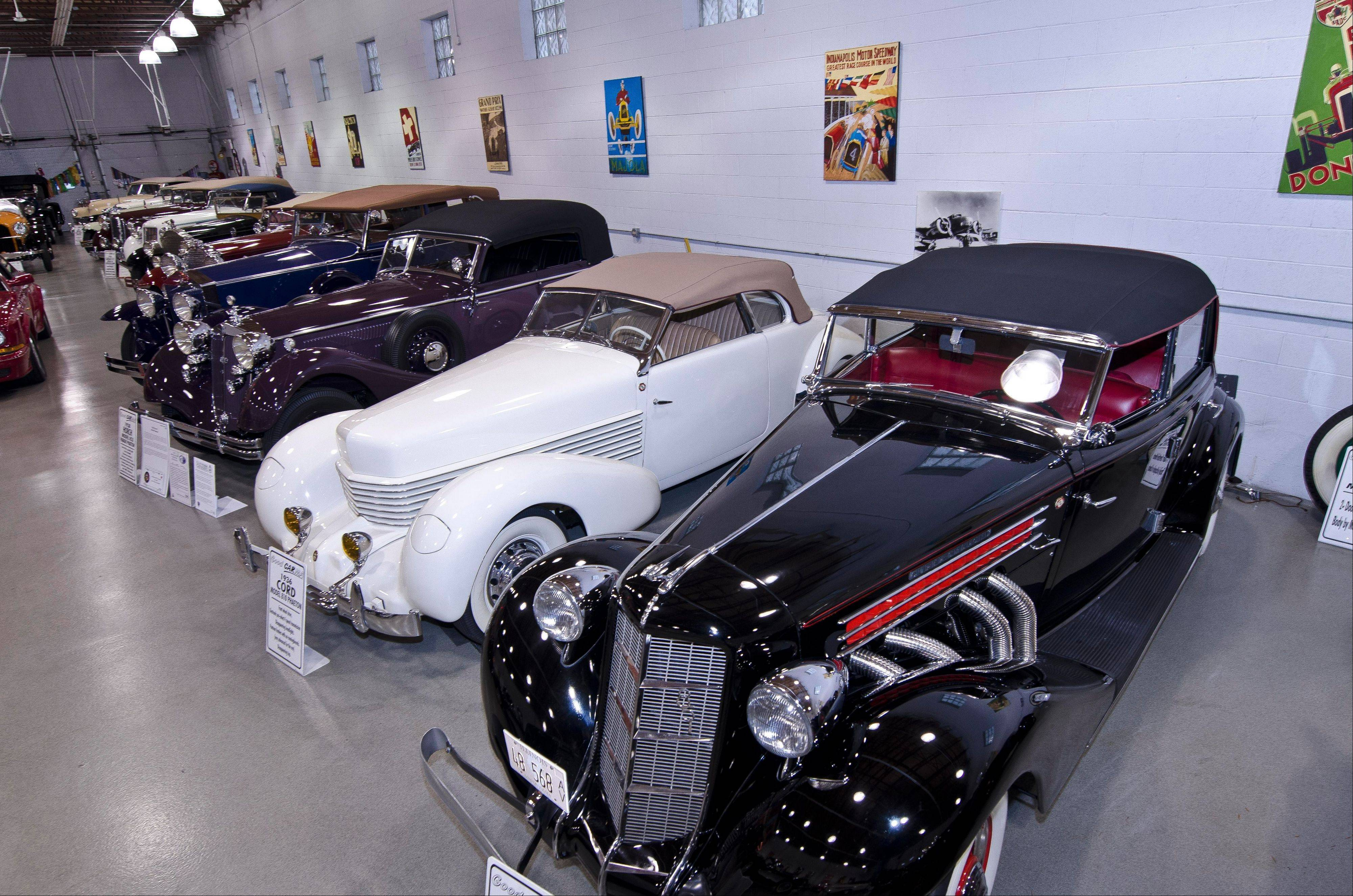 Ed Schoenthaler is proud of his vast car collection.