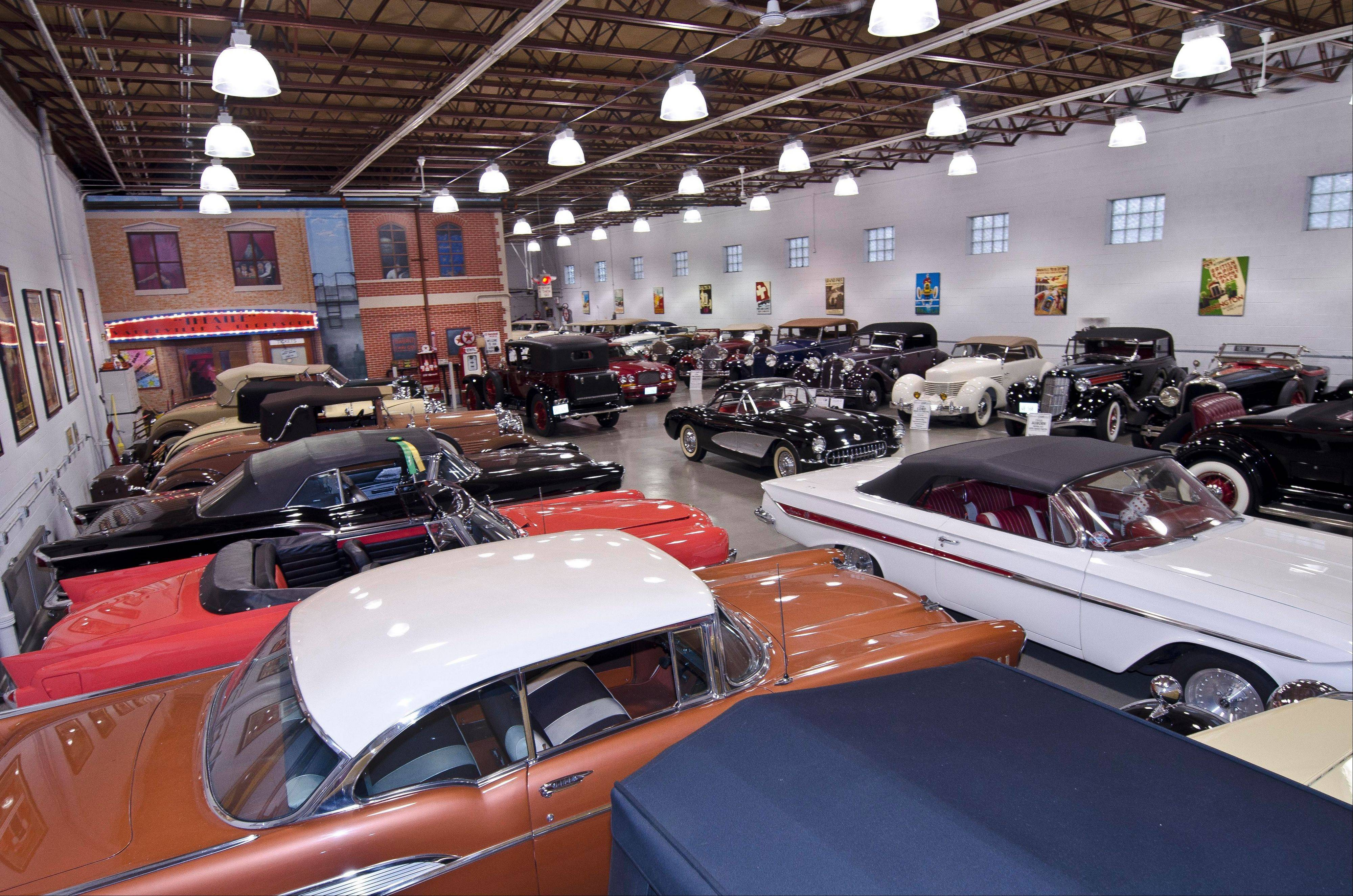 Collection now encompasses 40 cars