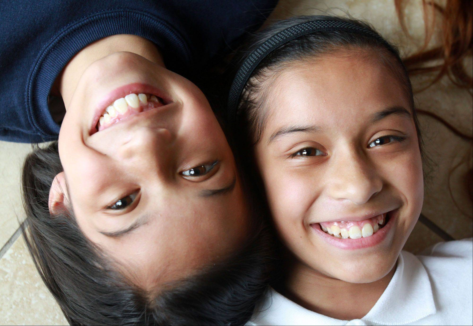 Olivia, left, and Alanna Chavez.