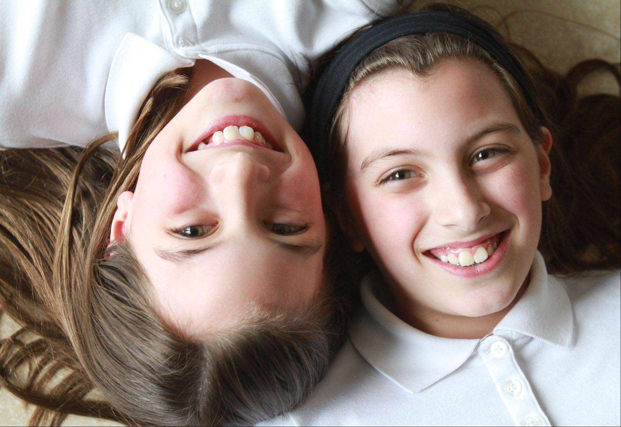 Gabriella, left, and Isabella Venturini.