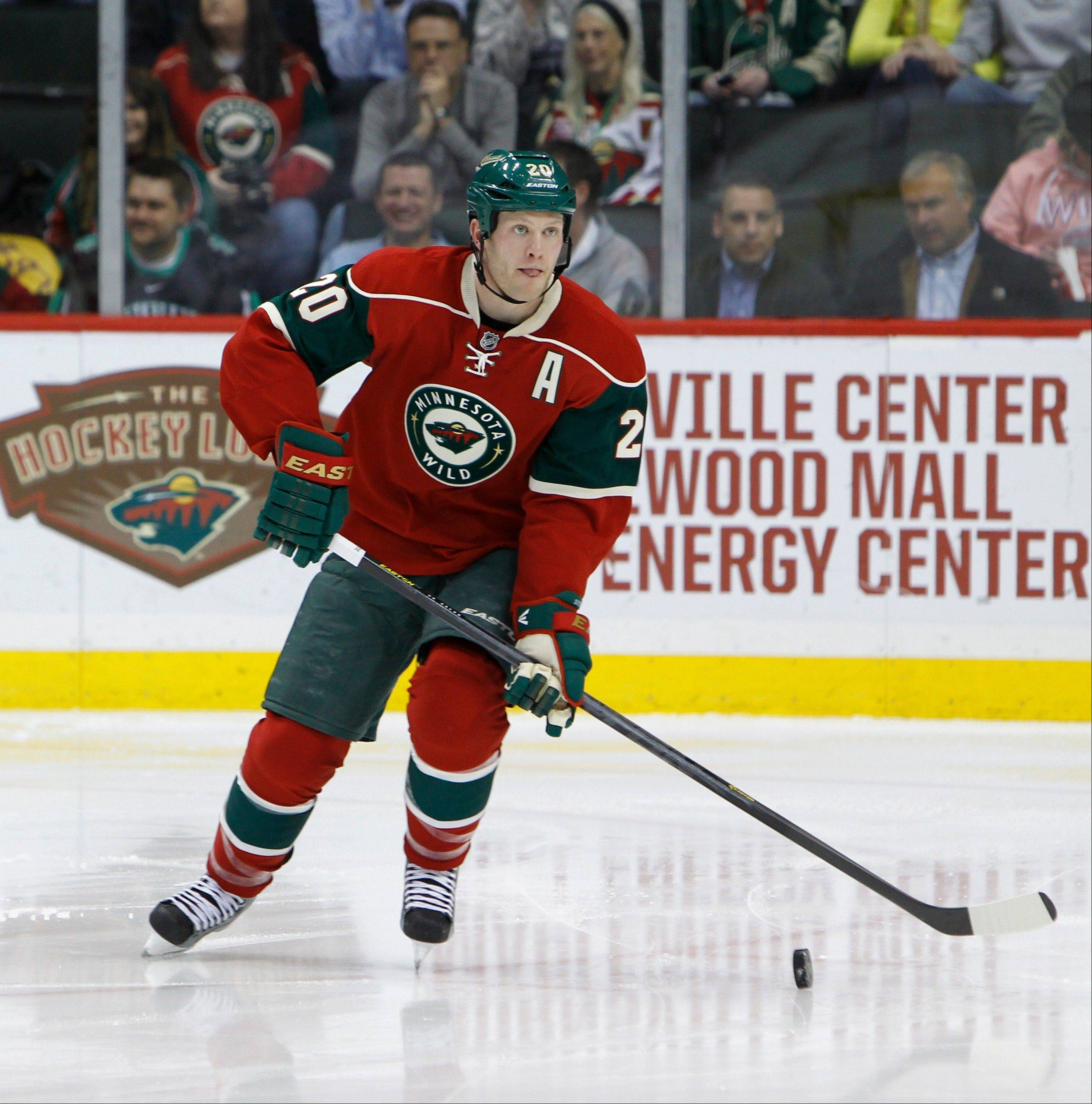 Ryan Suter is the iron man of the Wild's defense.